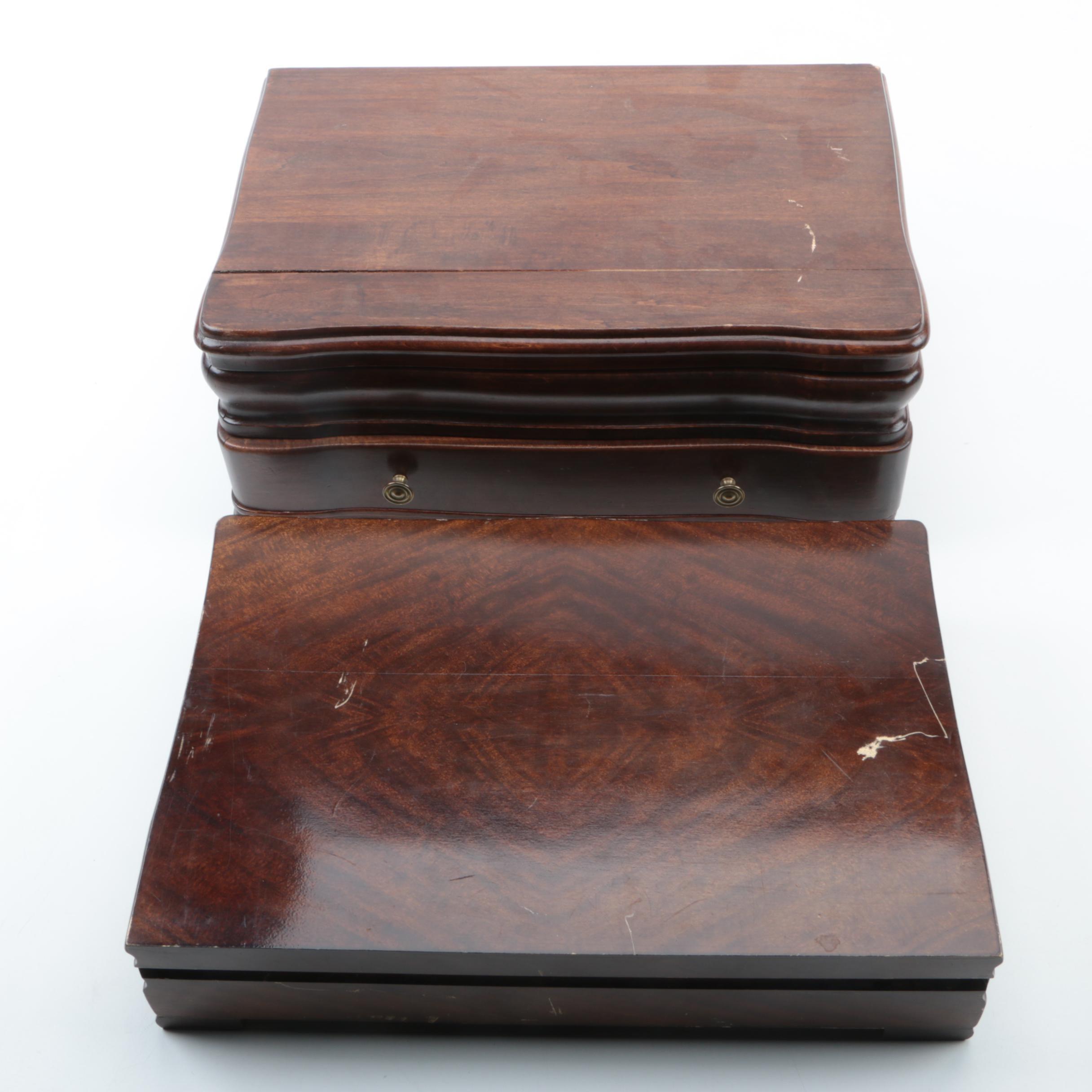 Wooden Flatware Chests
