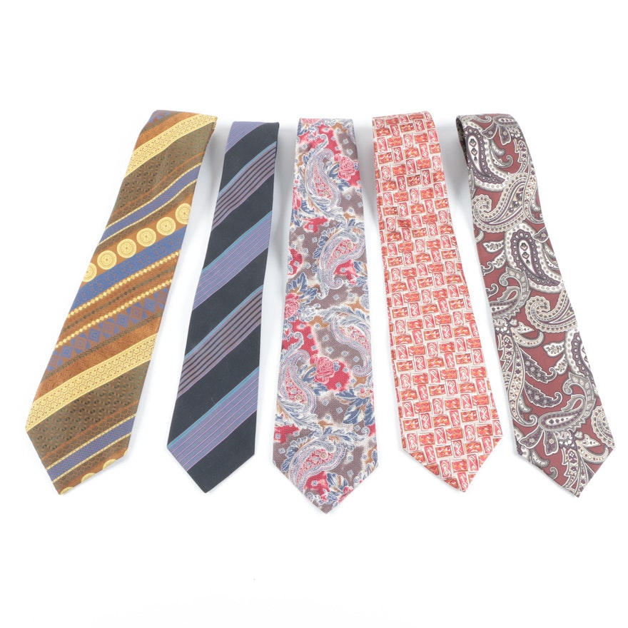 e6be7a920bad Men's Neckties Including Christian Dior, Louis Feraud and Andre Valetino ...