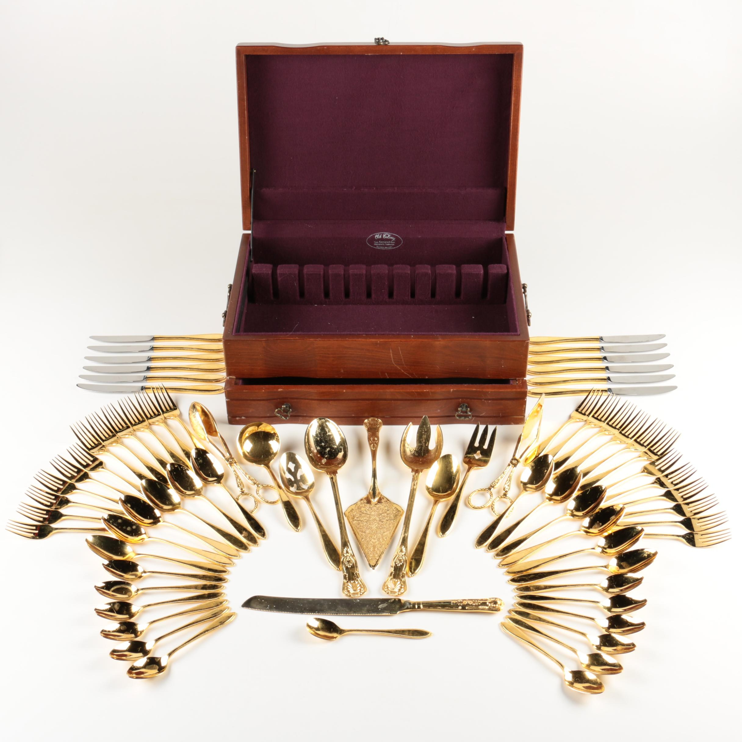 Imperial Gold 24 K Electroplate Flatware