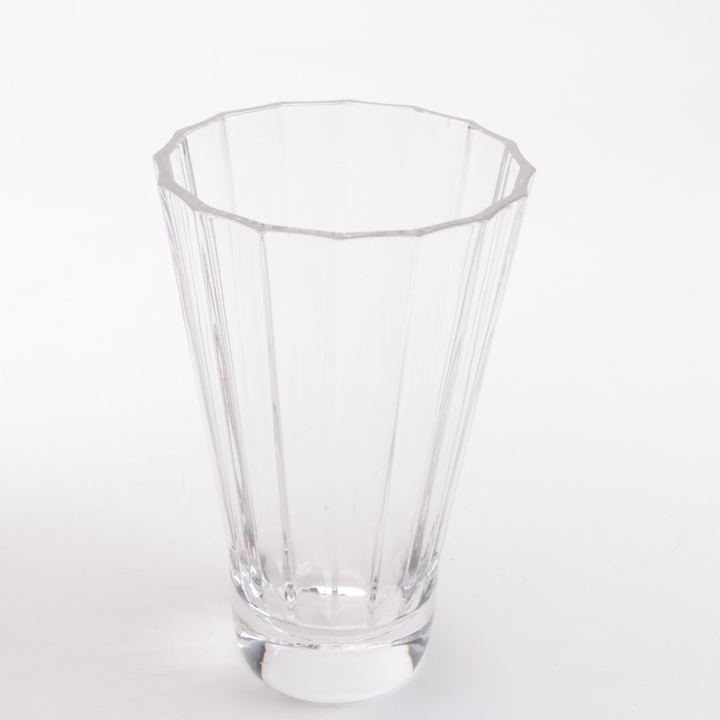 "Villeroy and Boch ""Paloma Picasso"" Glass Vase"