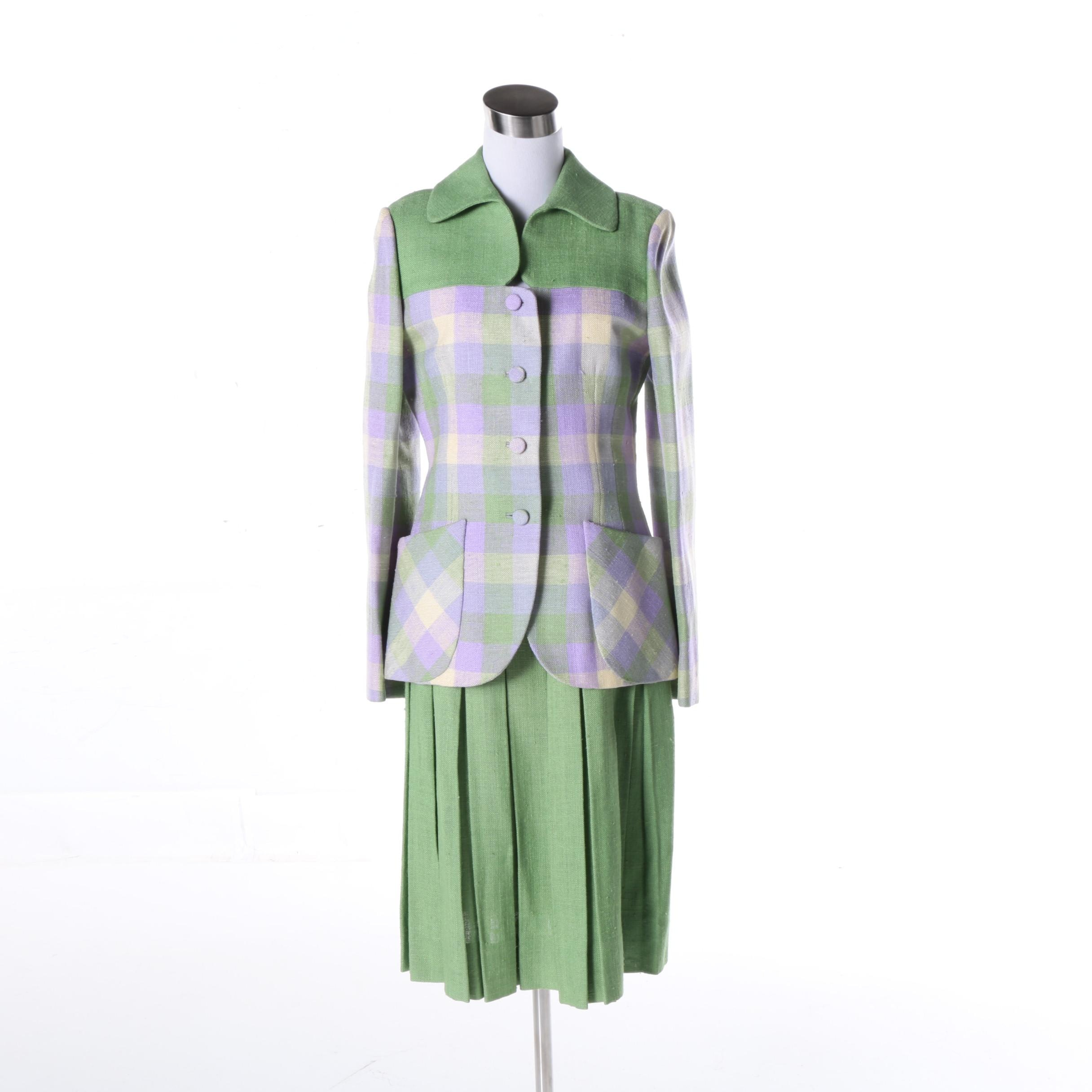 Vintage Cardinali Skirt Suit