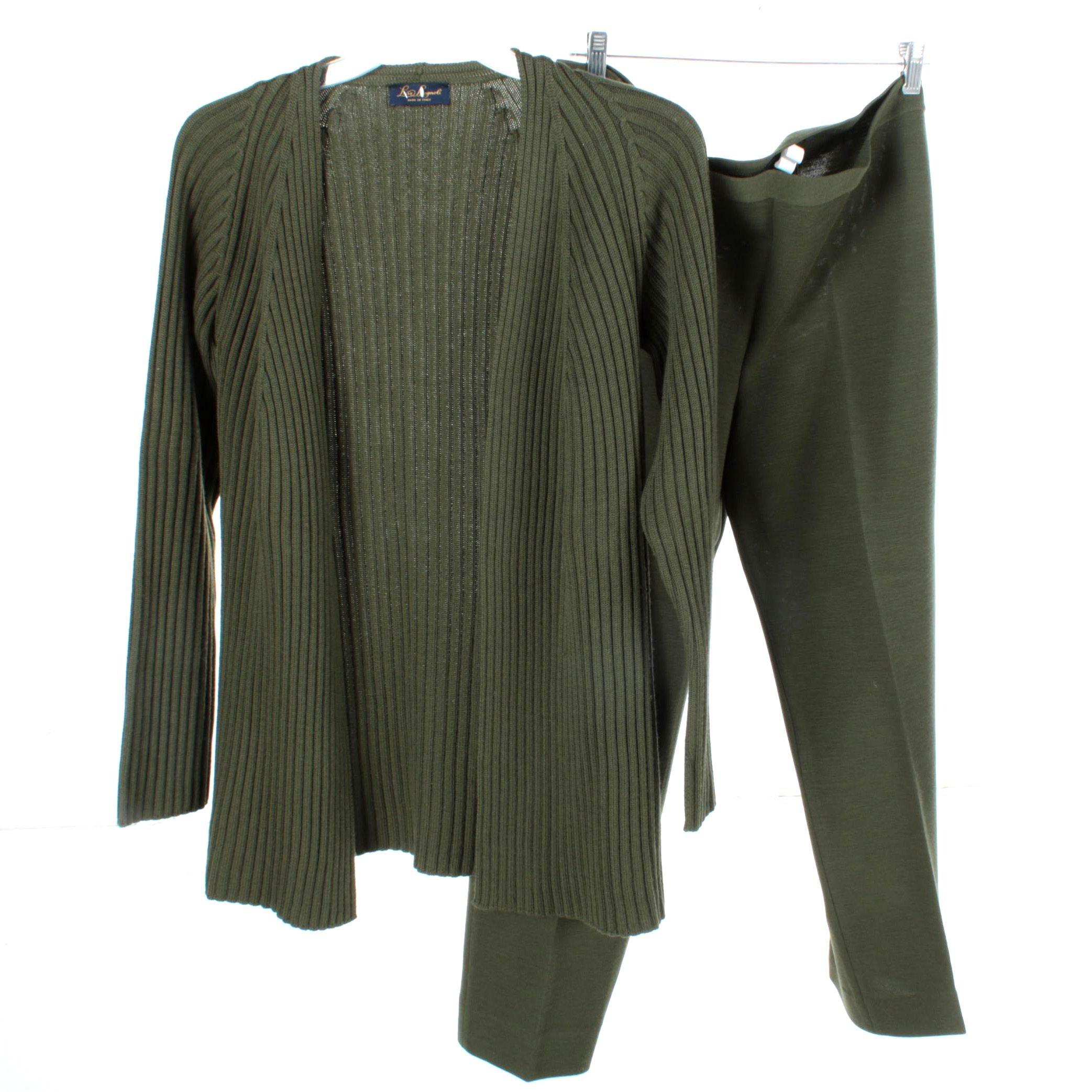 Luisa Ragnoli Sweater and Pant Set