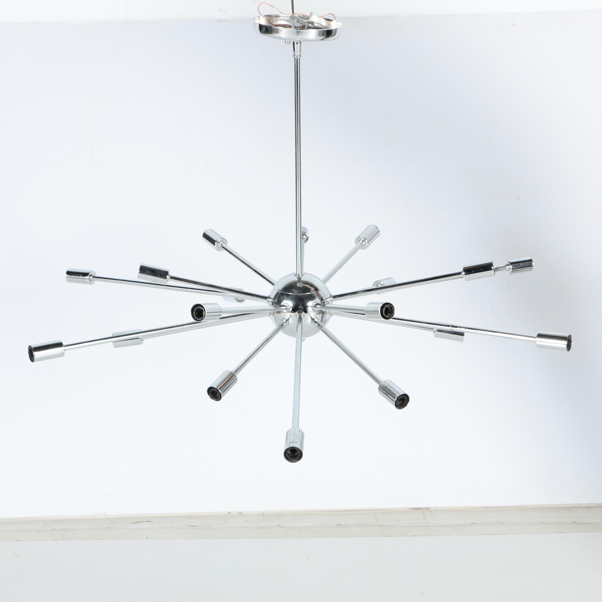 """Modern Style """"Sputnik"""" Chandelier"""