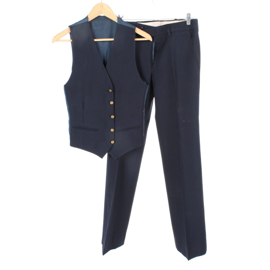 176e207c99d Men's Vintage Yves Saint Laurent Pants and Vest | EBTH