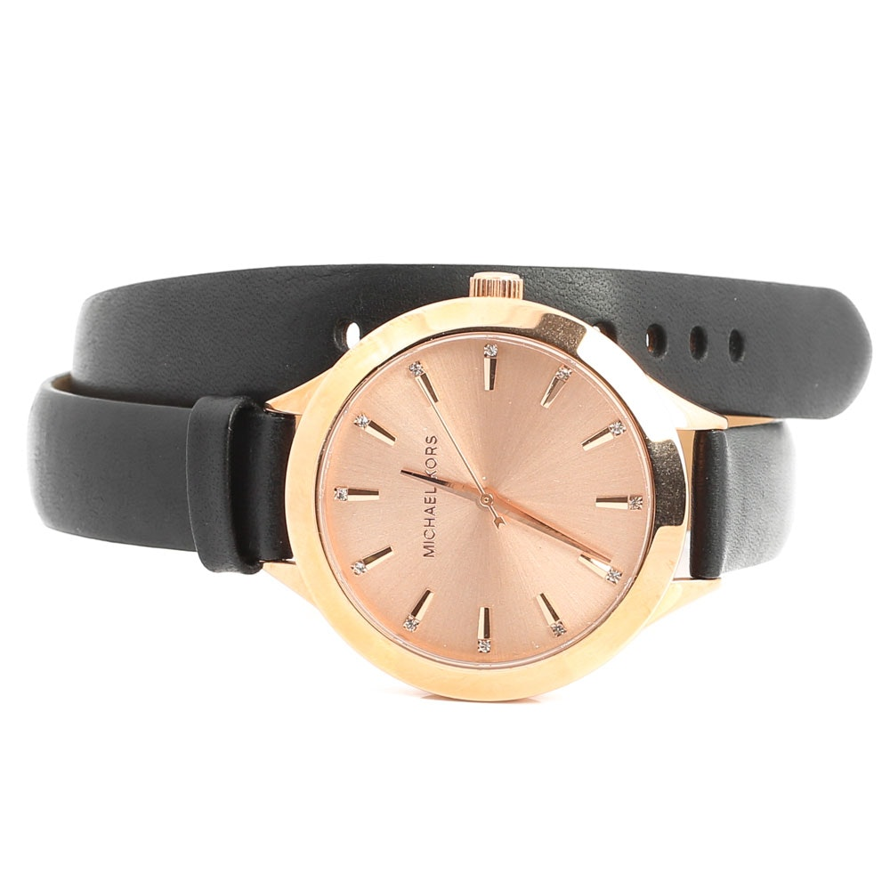 Stainless Steel Michael Kors Wristwatch