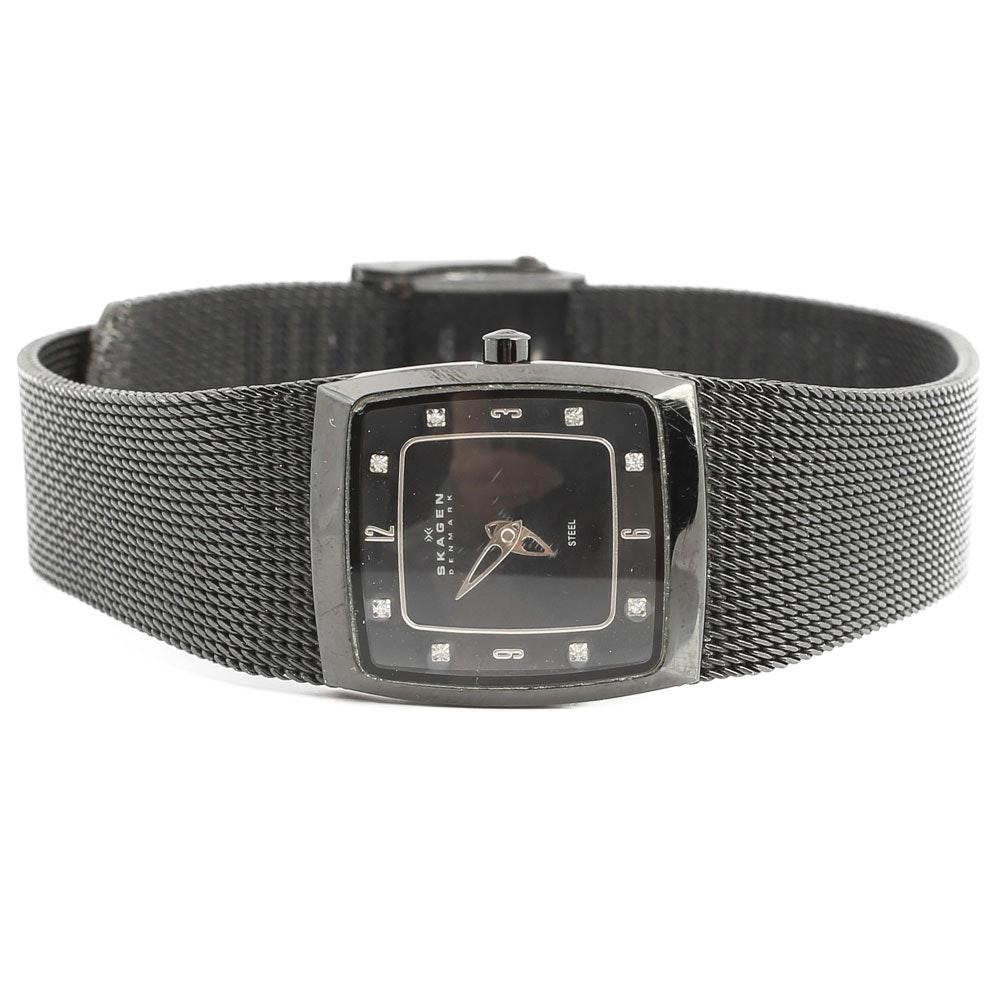Stainless Steel Skagen Wristwatch