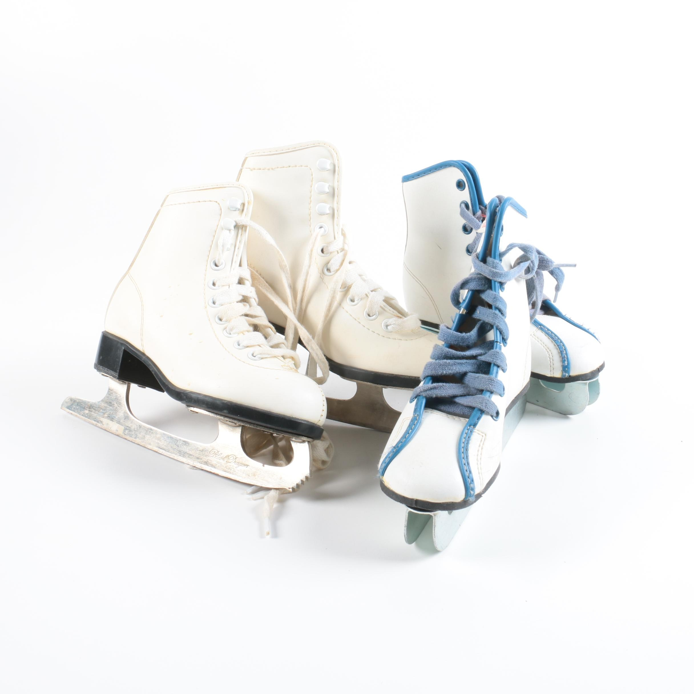 CCM and Lake Placid Ice Skates