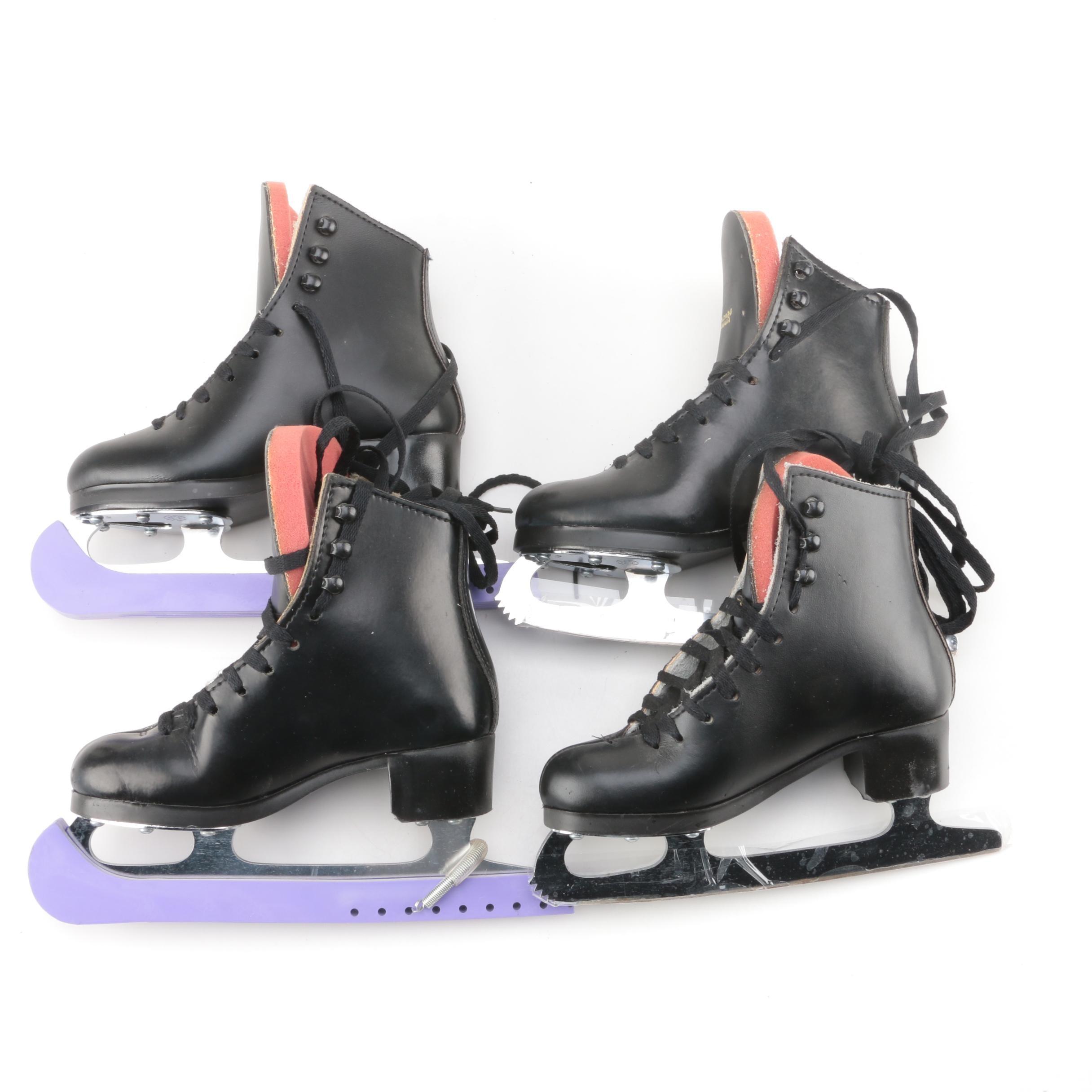 Sonjia Bronze Children's Figure Skates