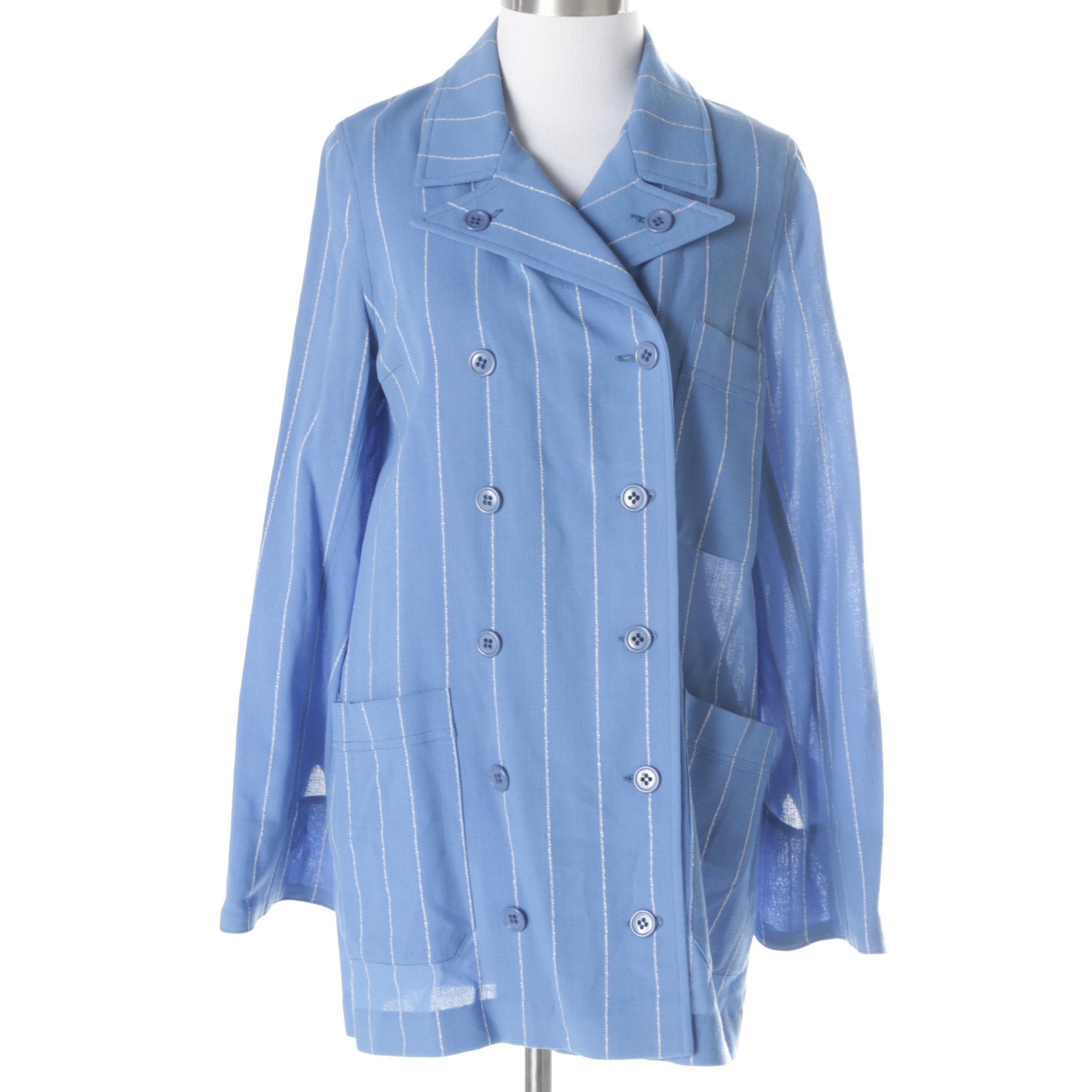 Women's Vintage Cardinali Pinstripe Jacket