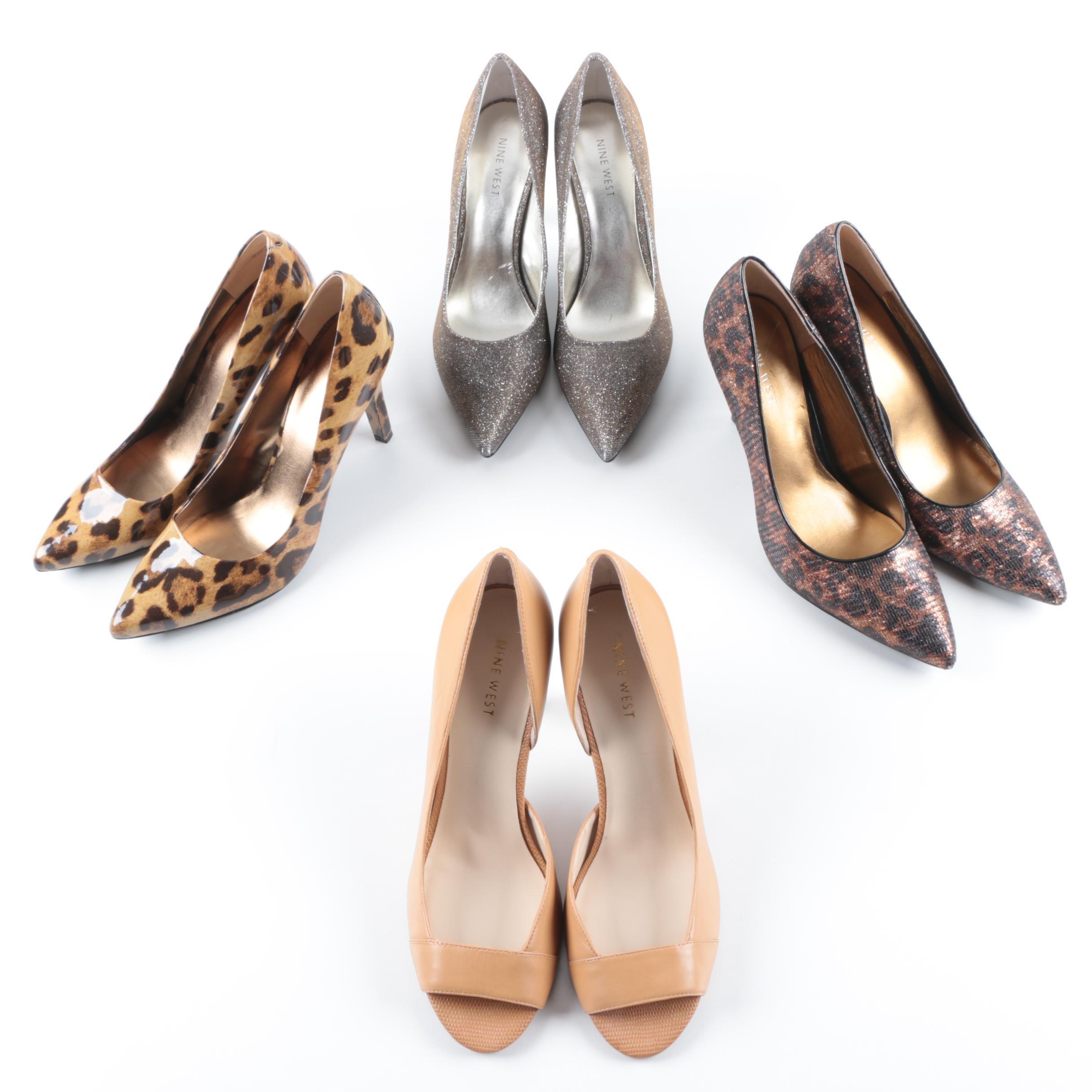 Women's Nine West High Heeled Shoes