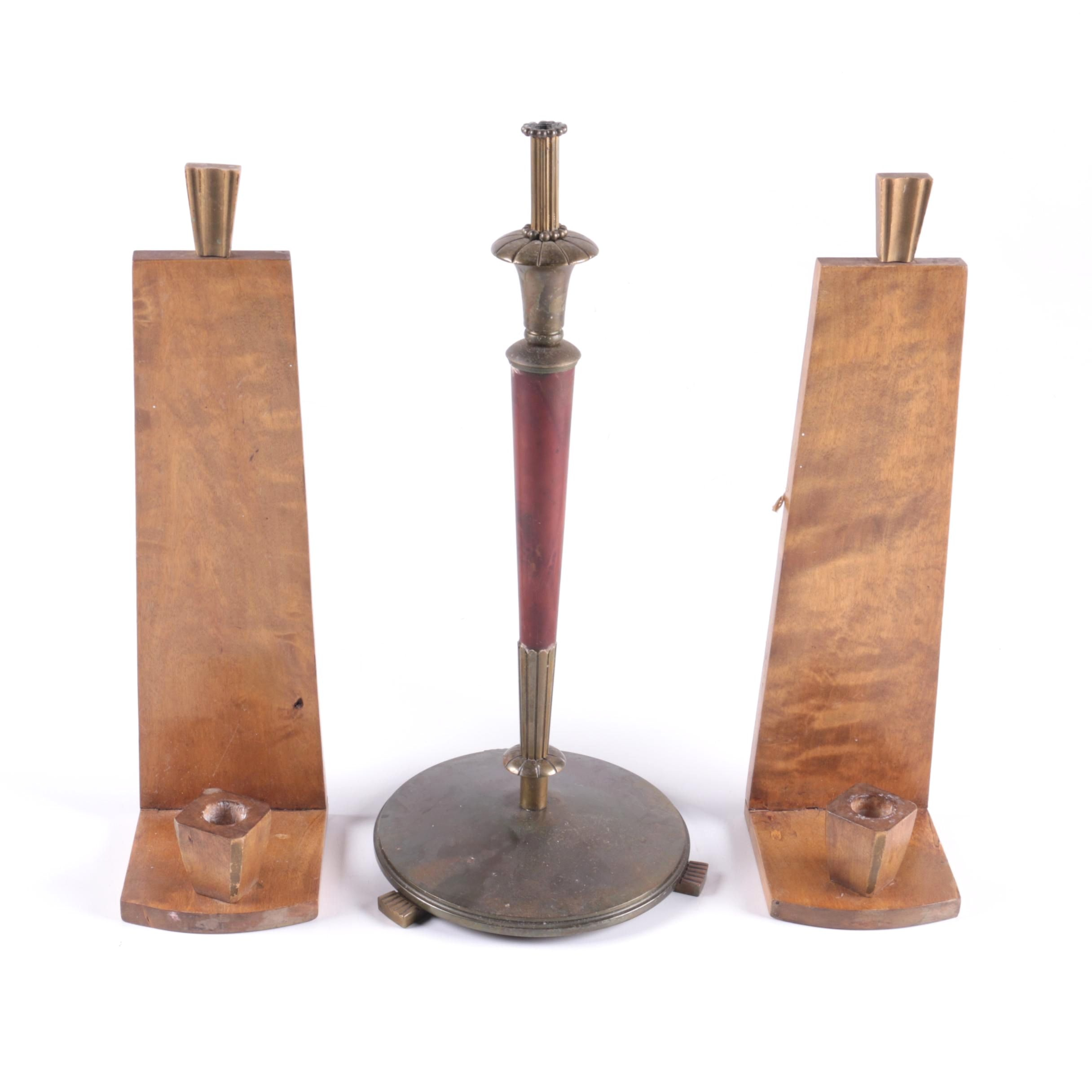 Grouping of Candle Holders
