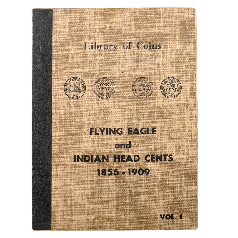 Vintage Binder of Flying Eagle and Indian Head Cents