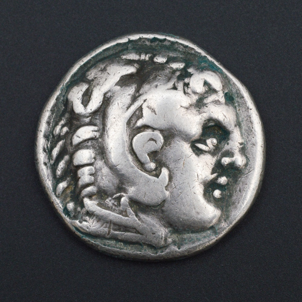 Circa 336 B.C. Alexander the Great Silver Tetradrachm Coin