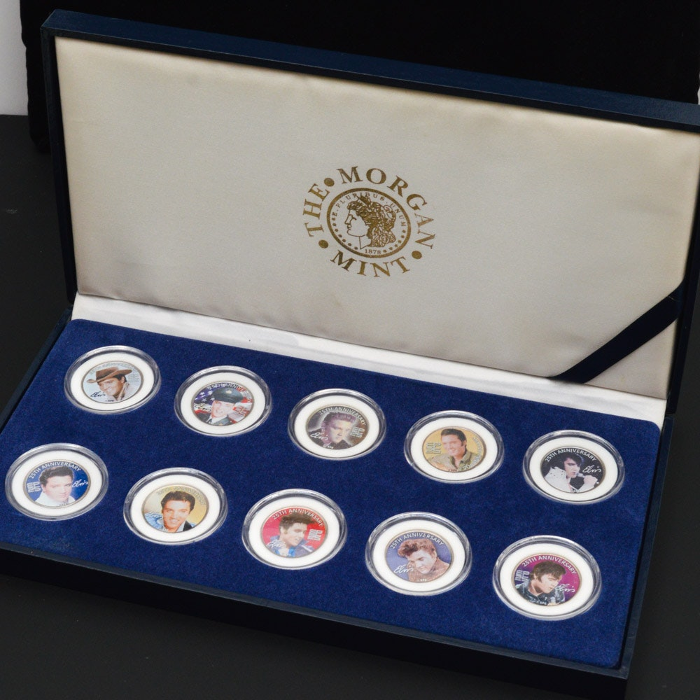 25th Anniversary Edition Elvis Motif State Quarters Set