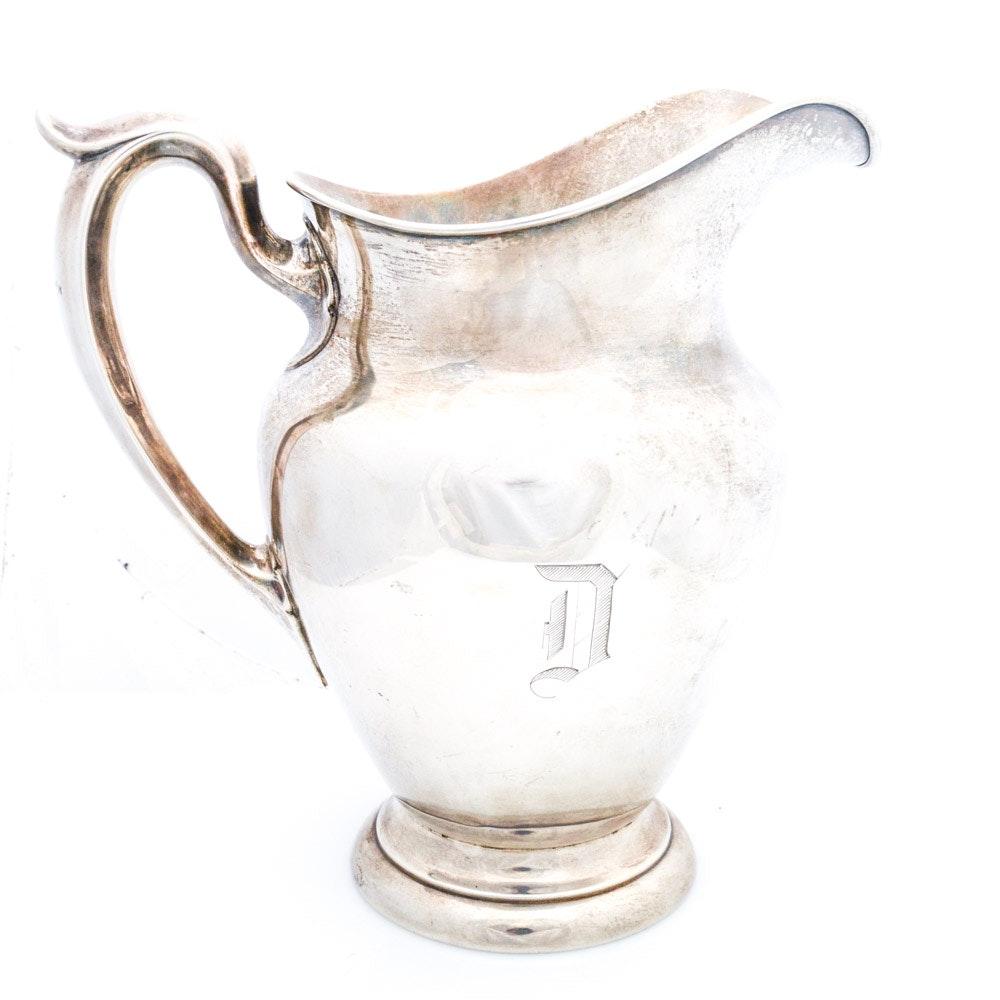 Vintage Gorham Sterling Silver Pitcher
