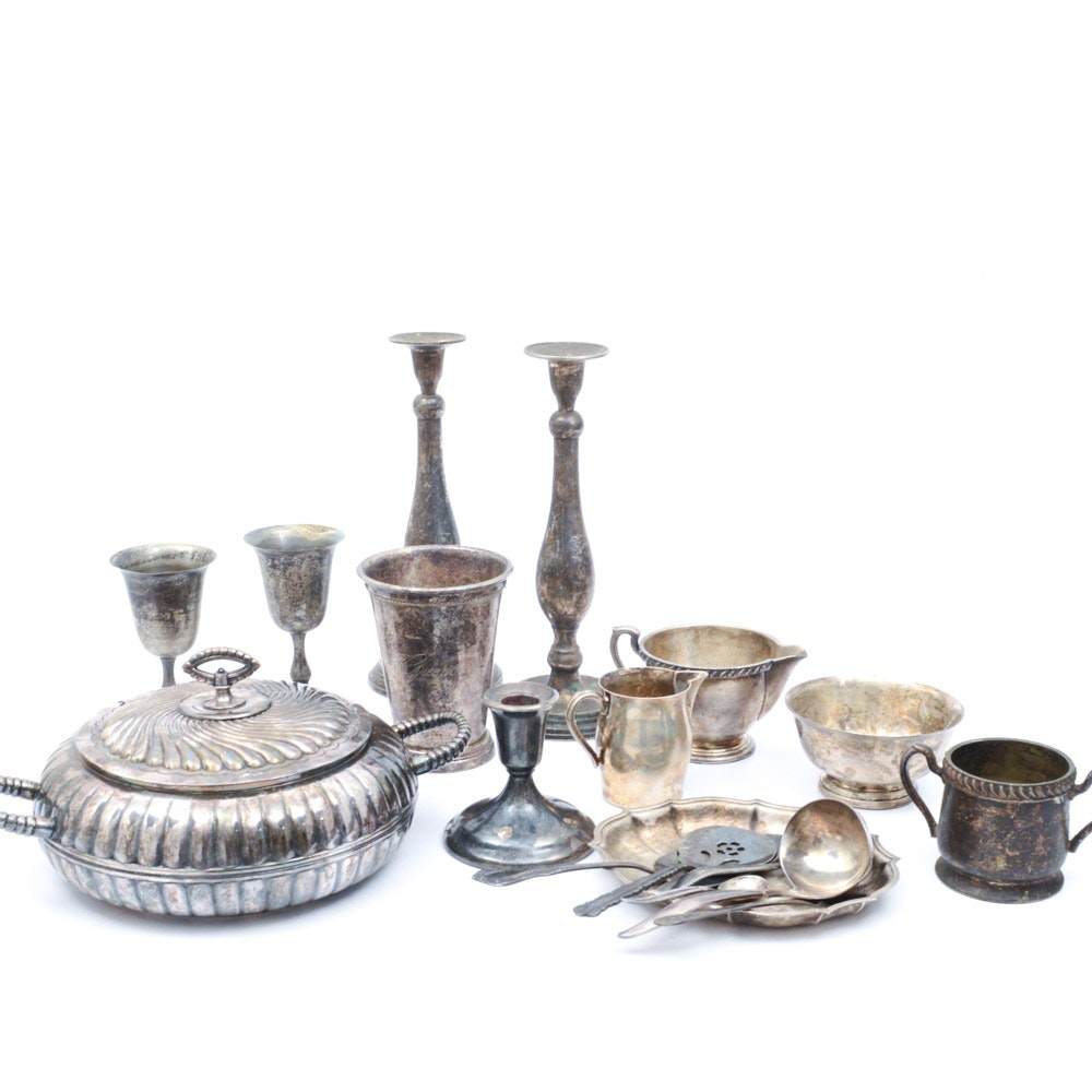 Assortment of Silver Plate Tableware