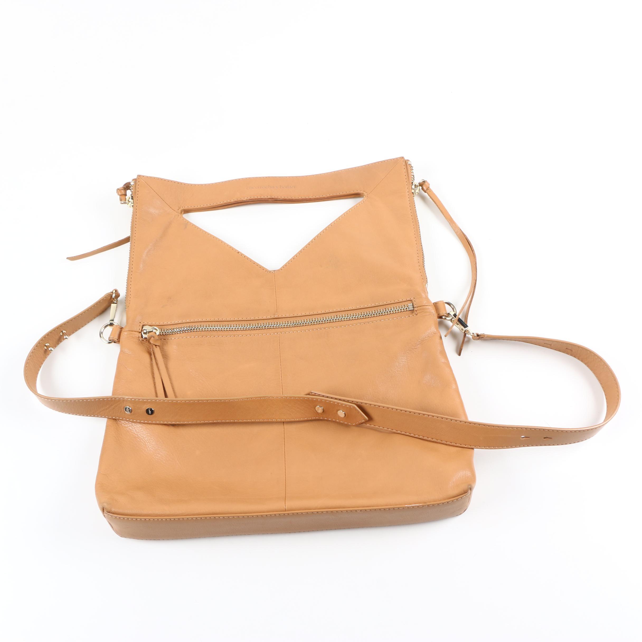Coco Rocha for Botkier Leather Shoulder Bag