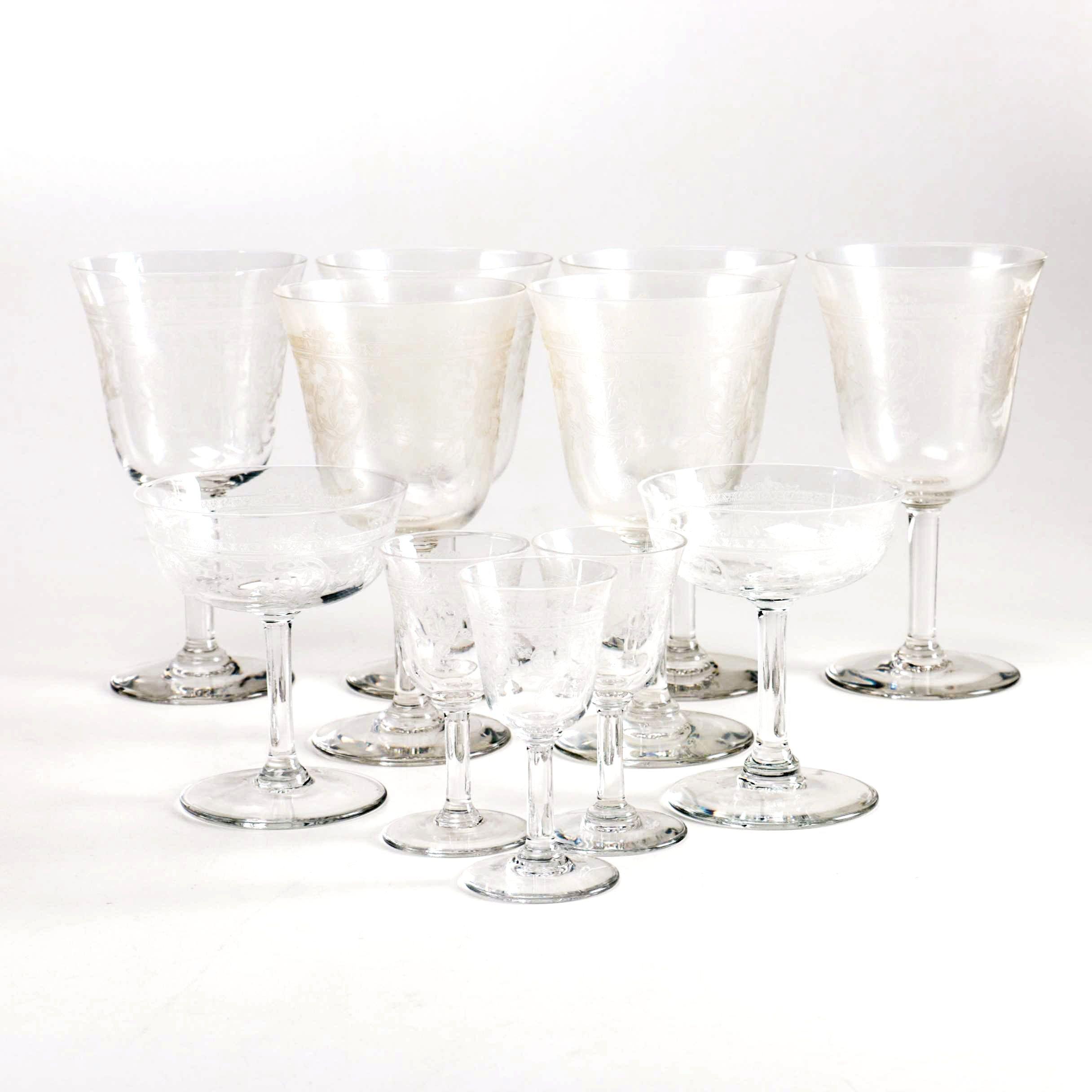 Glass Goblet Assortment