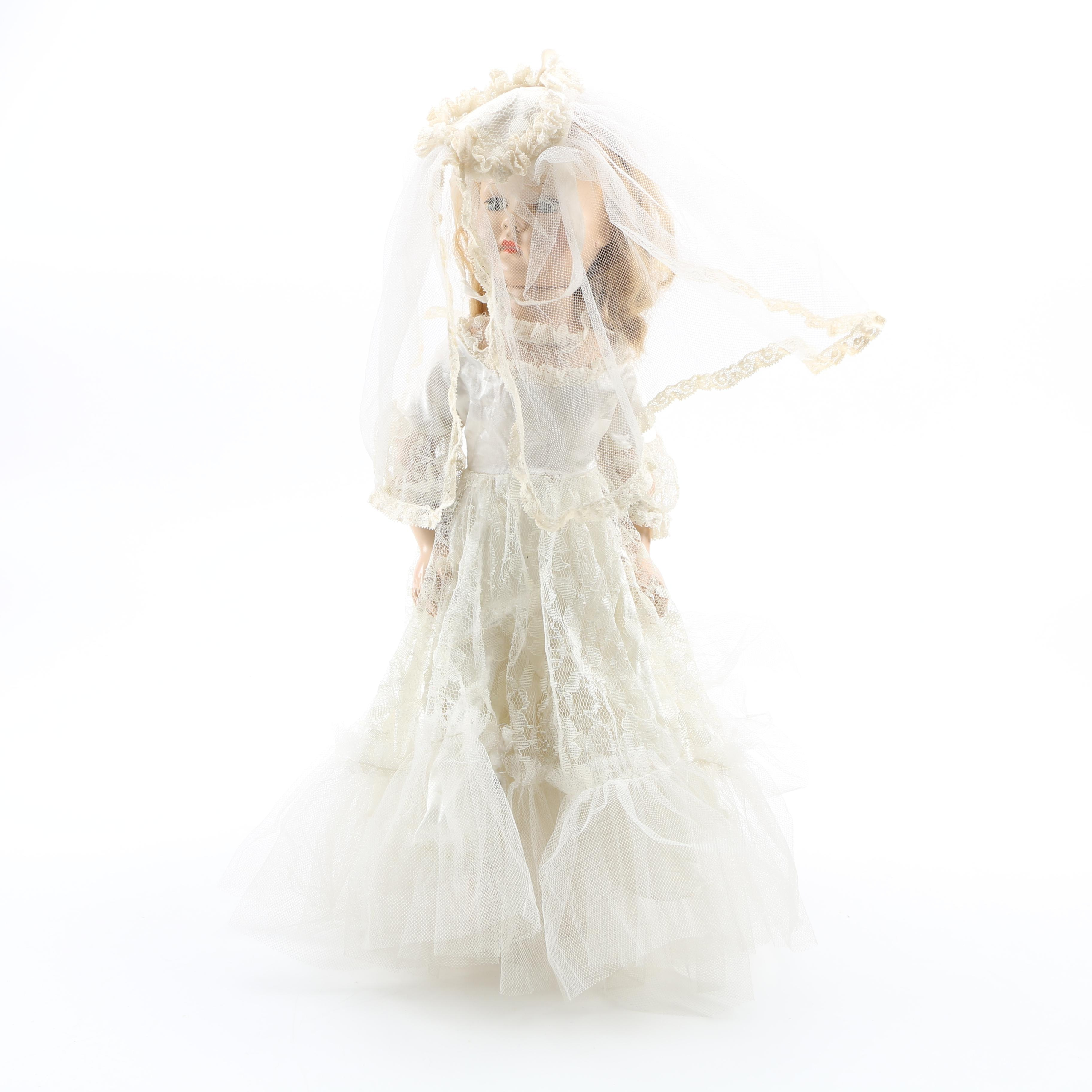 """Effanbee """"Little Lady"""" Doll in Bridal Outfit"""