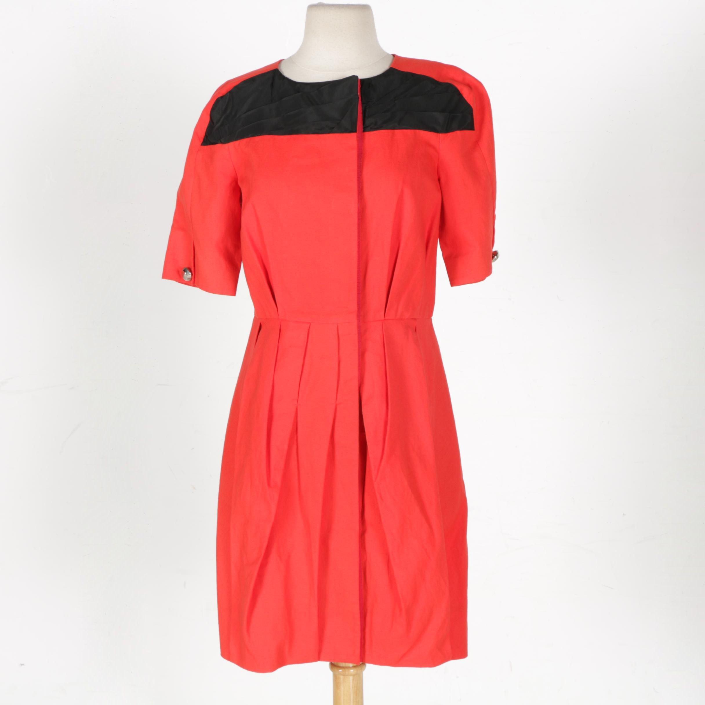 Rachel Roy Red and Black Dress