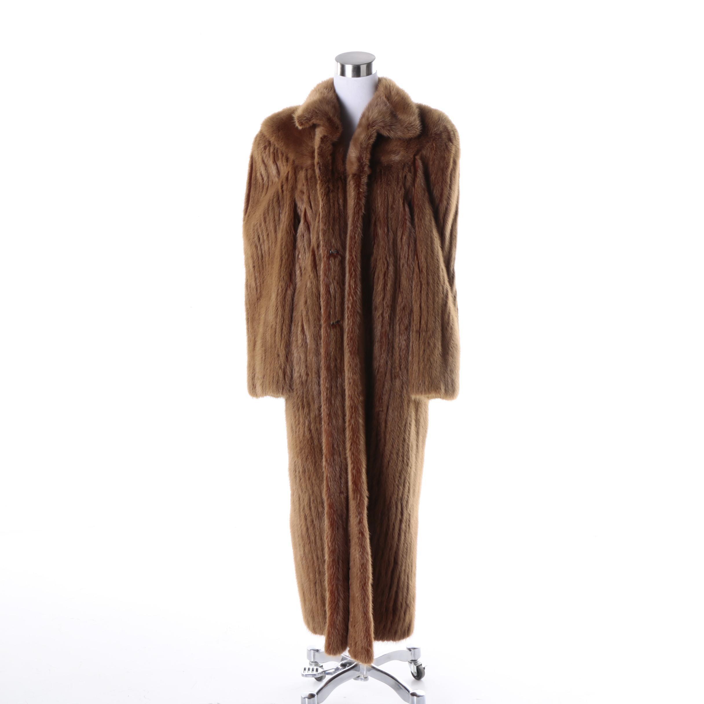 Women's Giancarlo Ripa Mink Fur Coat