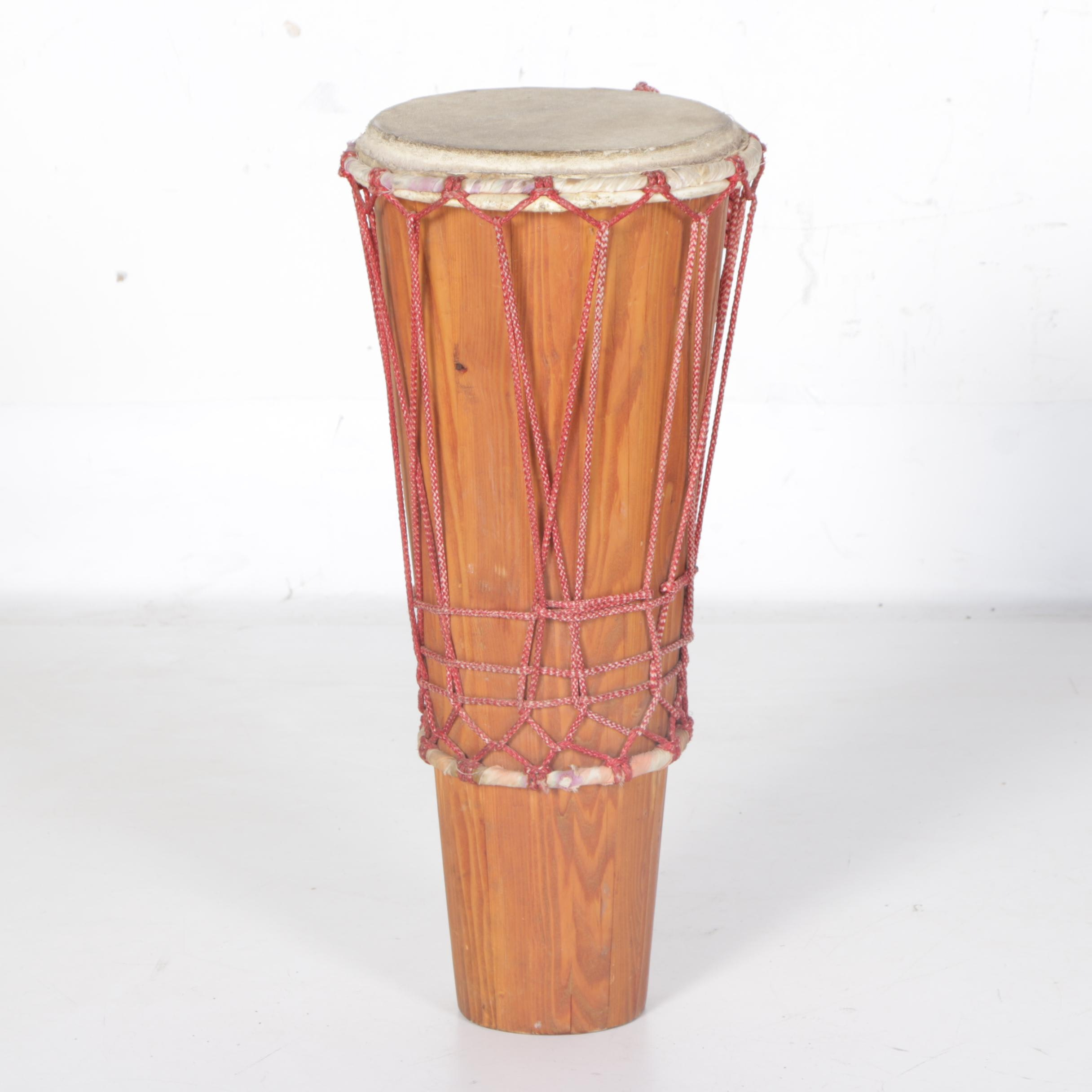 African-Style Bougarabou Hand Drum