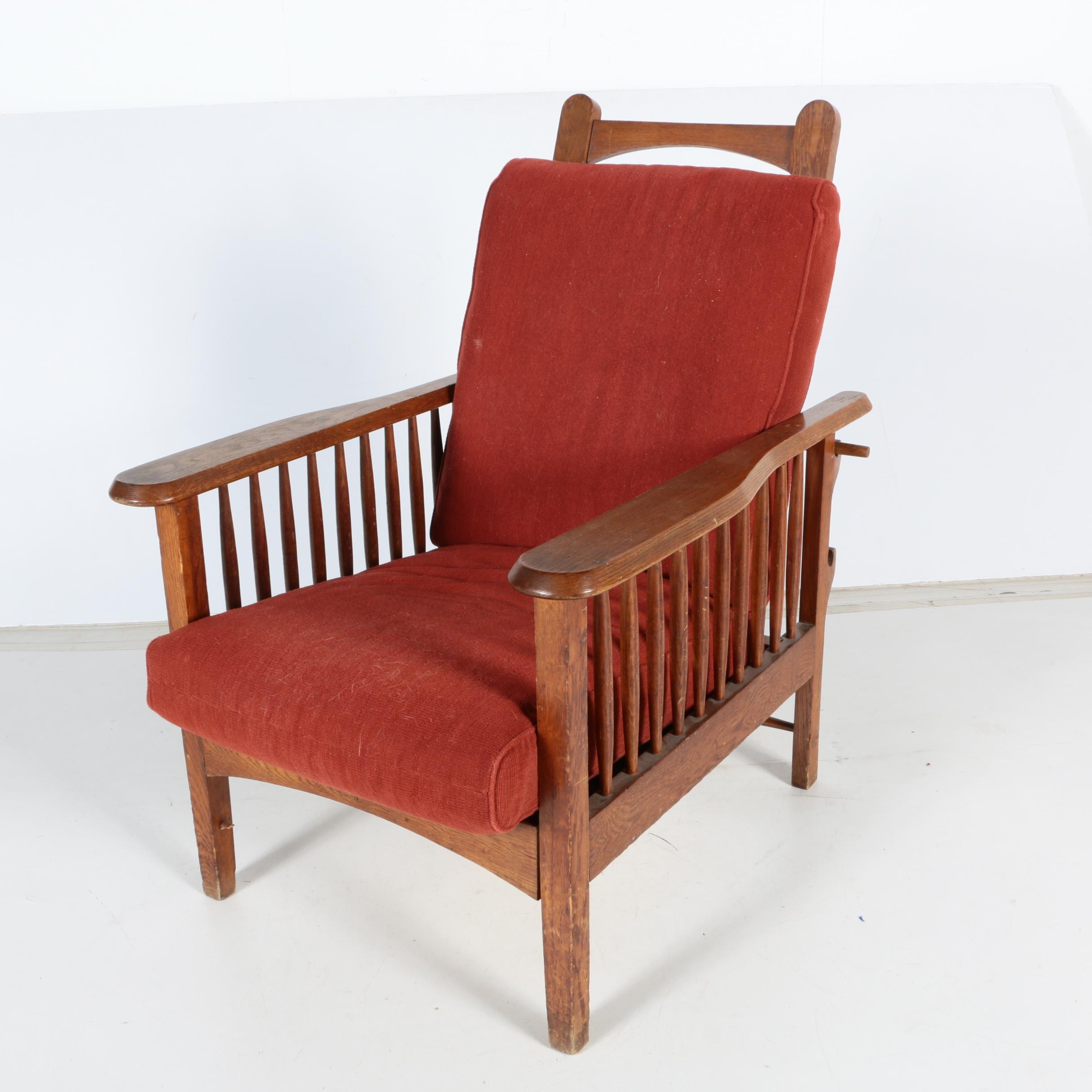 Mission Style Reclining Lounge Chair