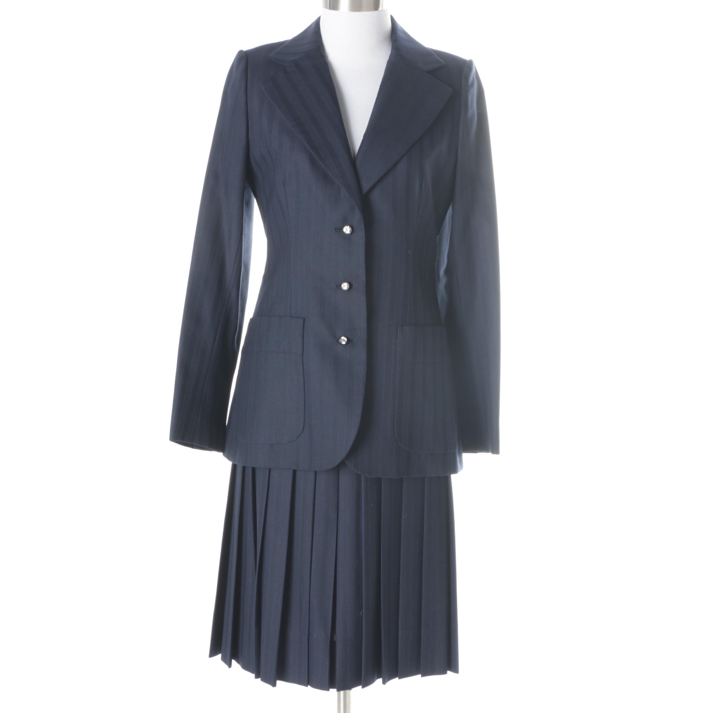 Women's Vintage Cardinali Suit