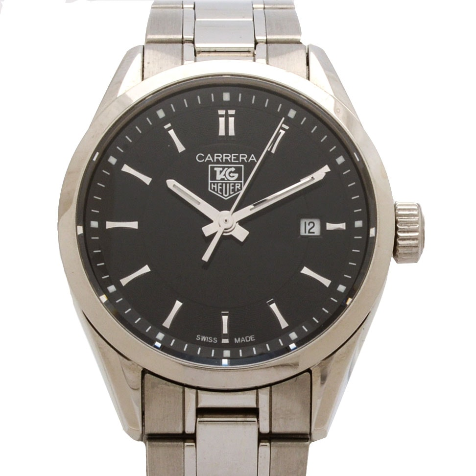TAG Heuer Carrera Stainless Steel 27mm Quartz Watch