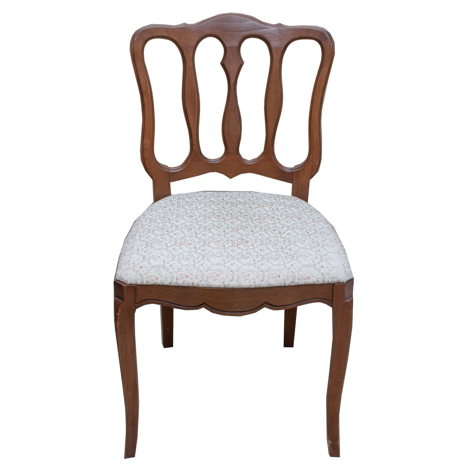 R-Way Furniture Wood and Upholstered Chair