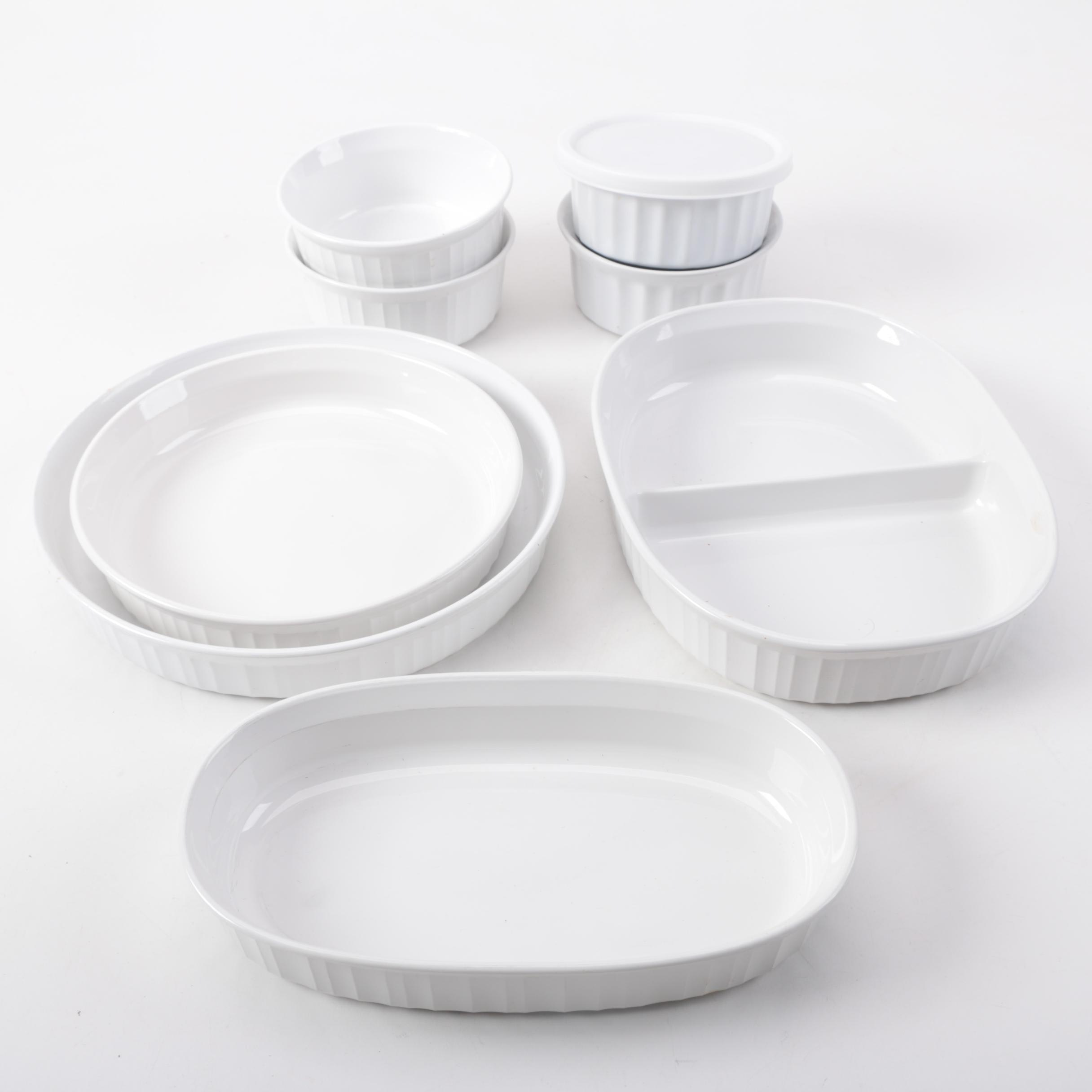 Ceramic Bakeware featuring Corningware
