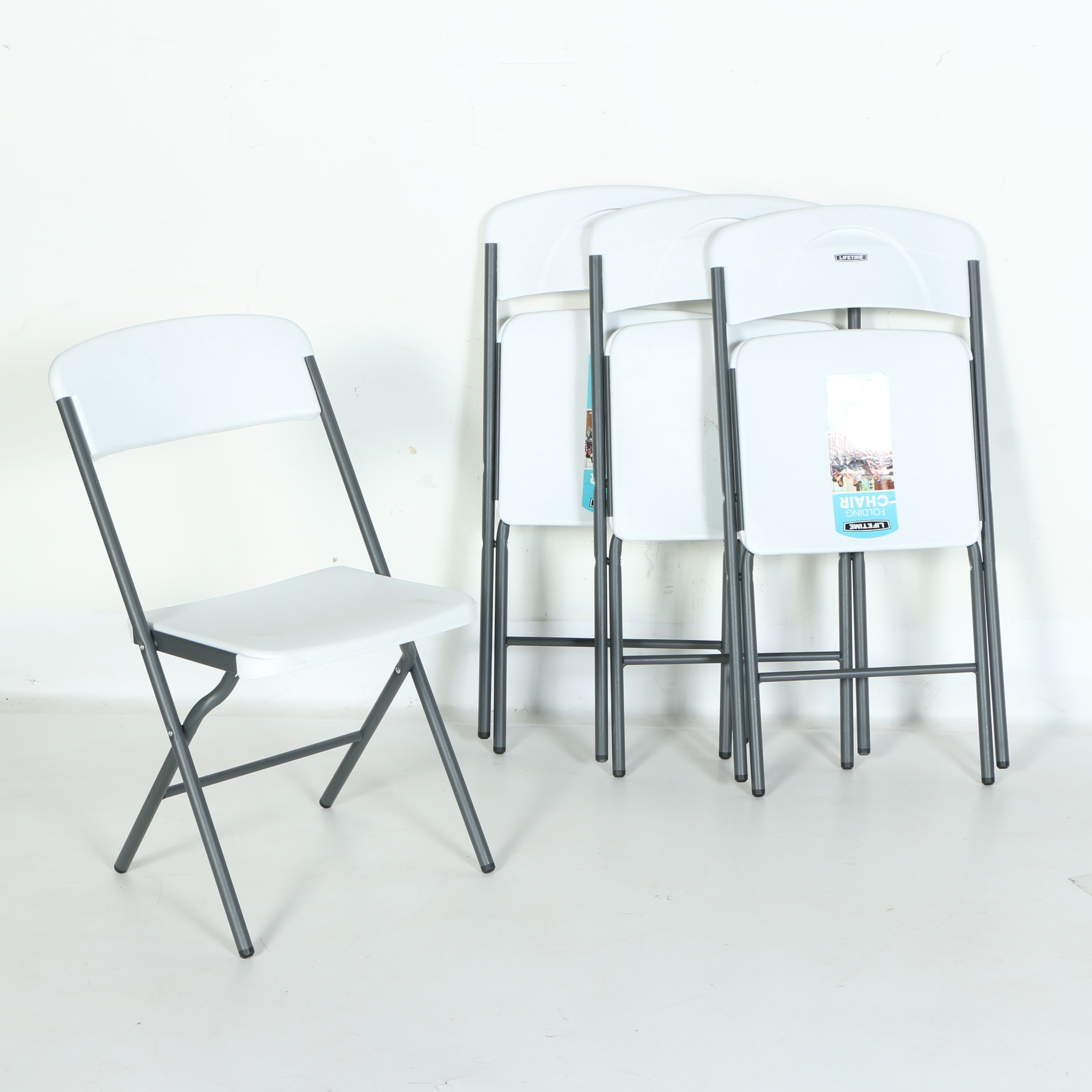 Set of Folding Chairs by Lifetime