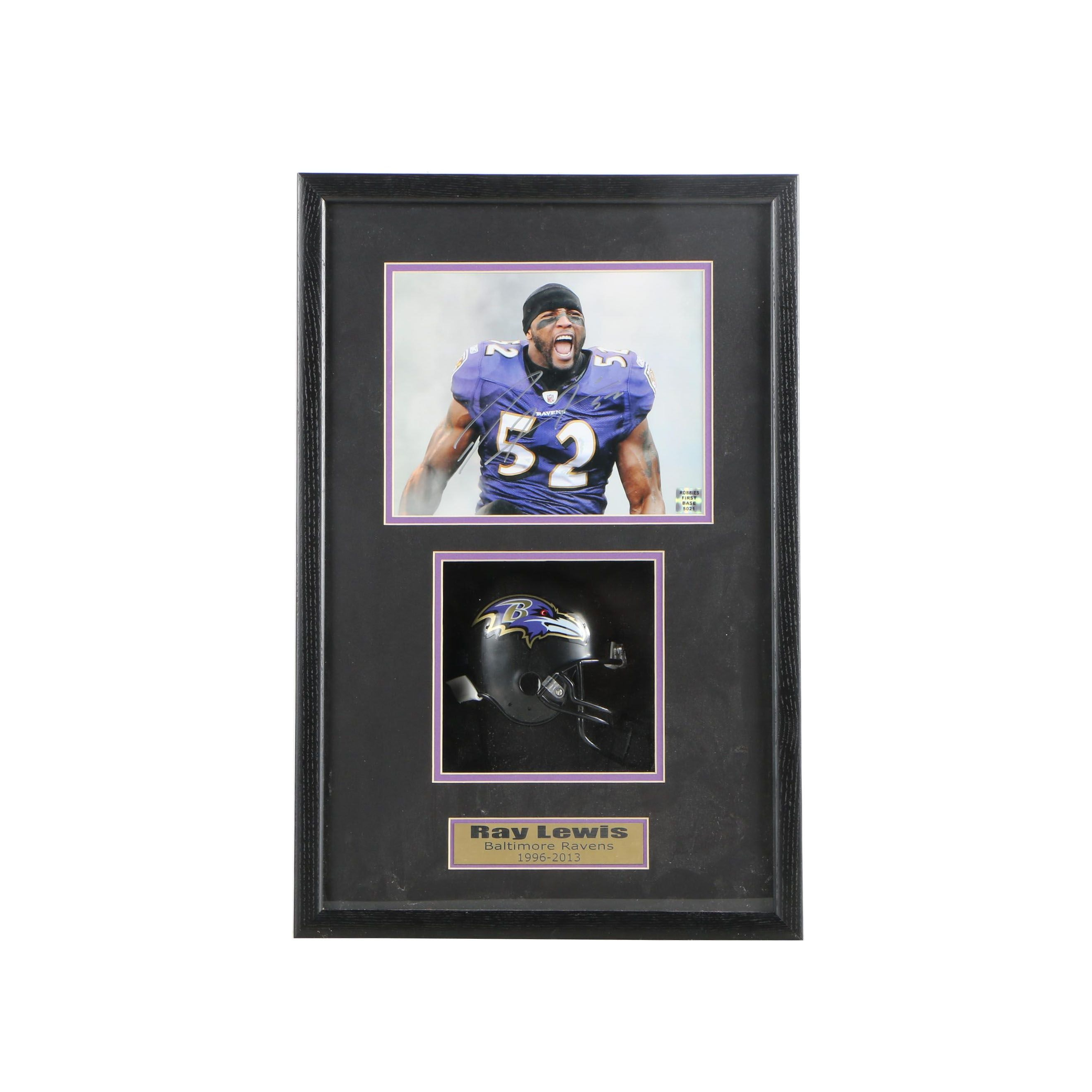 Ray Lewis Autographed Photograph