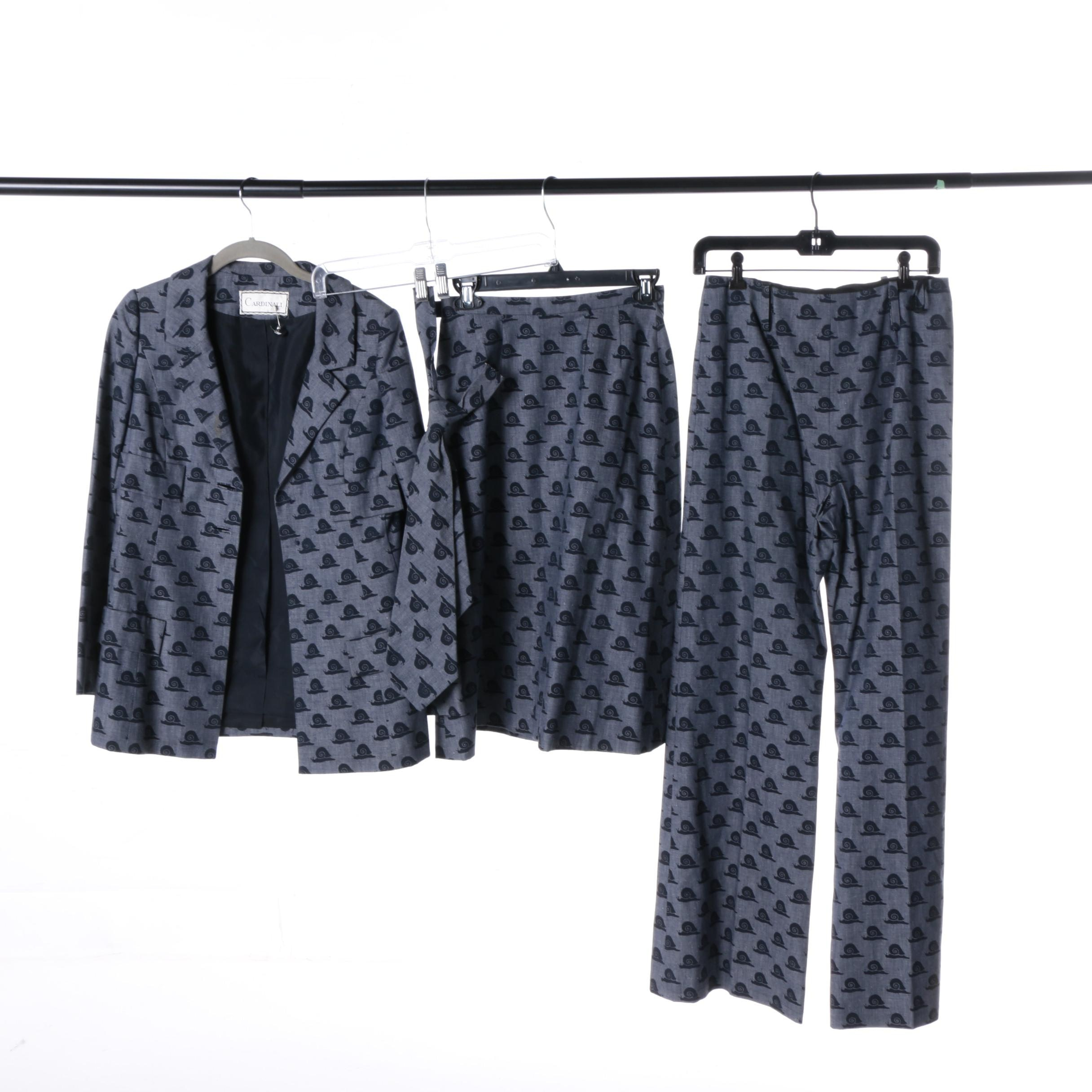 Women's Vintage Cardinali Four-Piece Suit