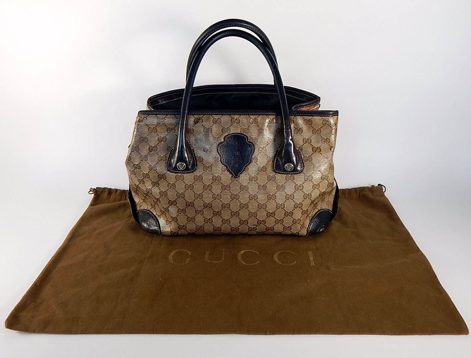 Large Gucci Tote Handbag