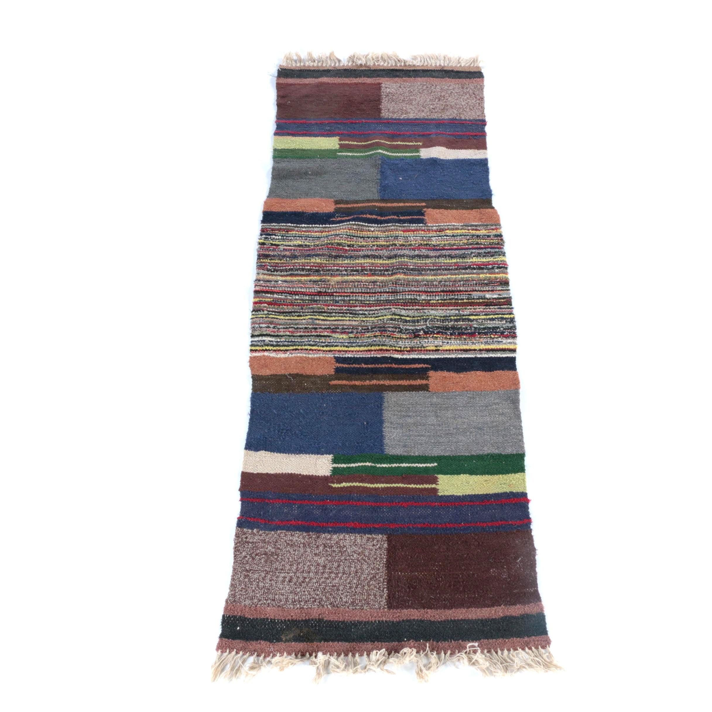 Handwoven Moroccan Berber Wool Area Rug