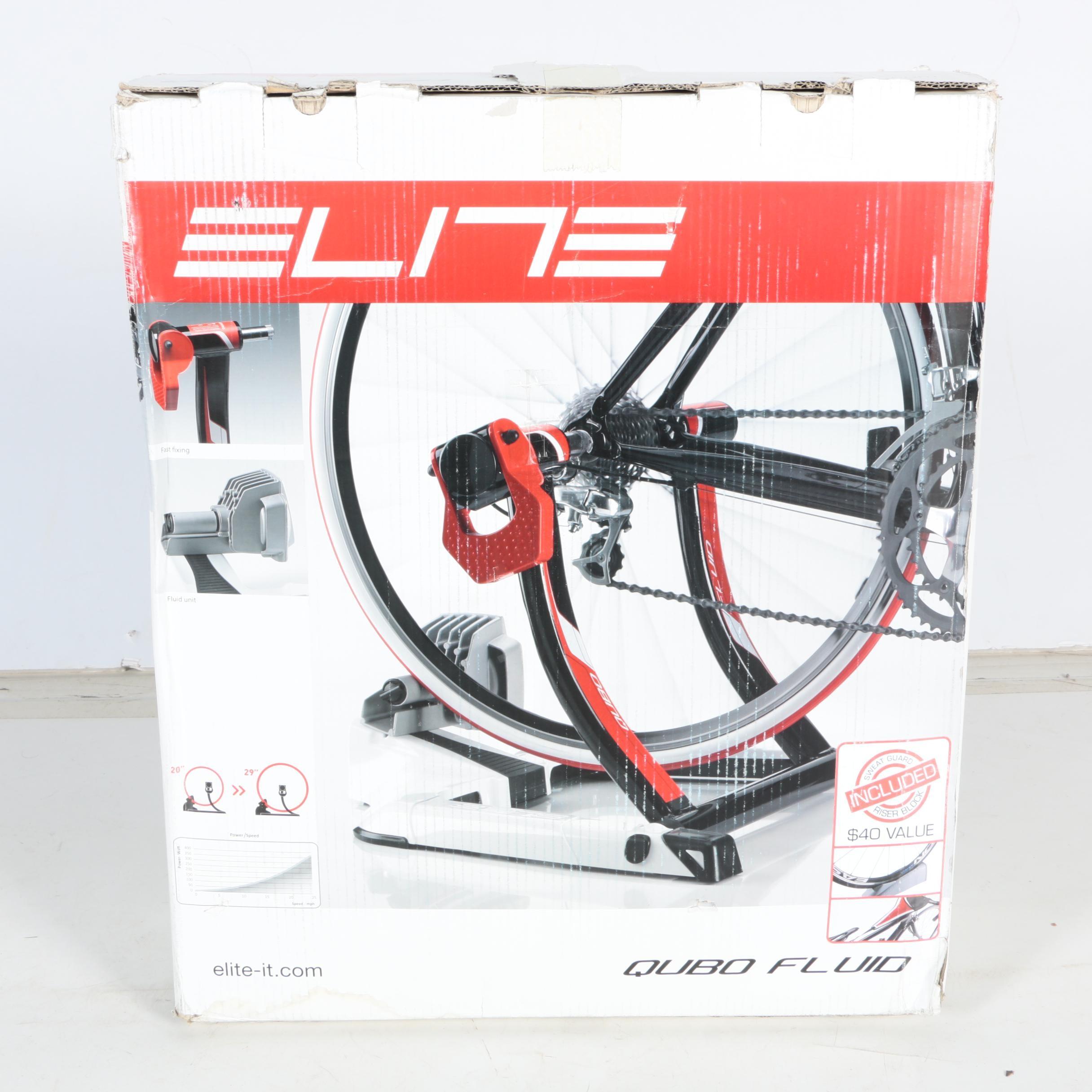 Elite Qubo Fluid Bike Trainer