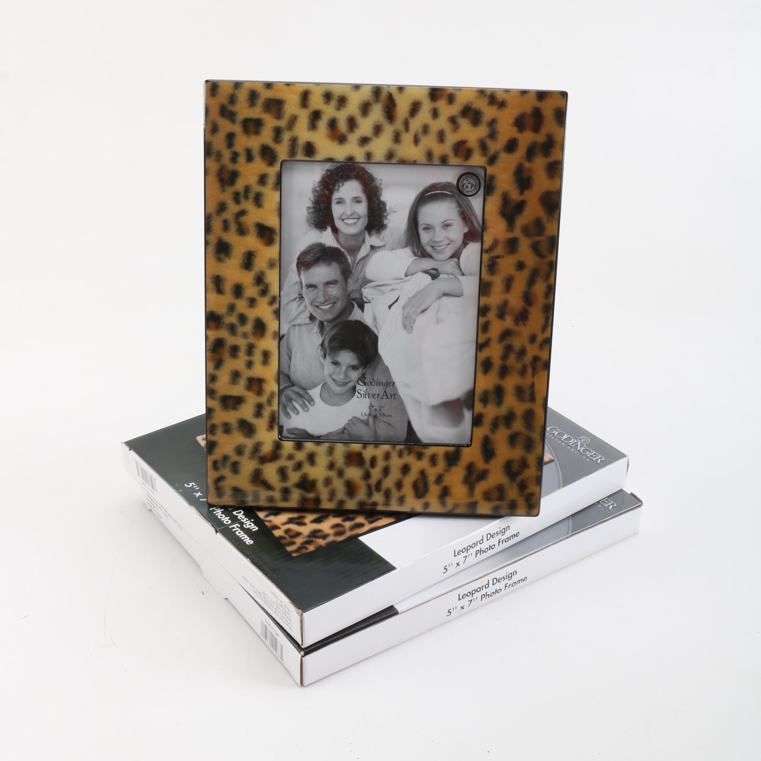 Leopard Motif Picture Frames by Godinger