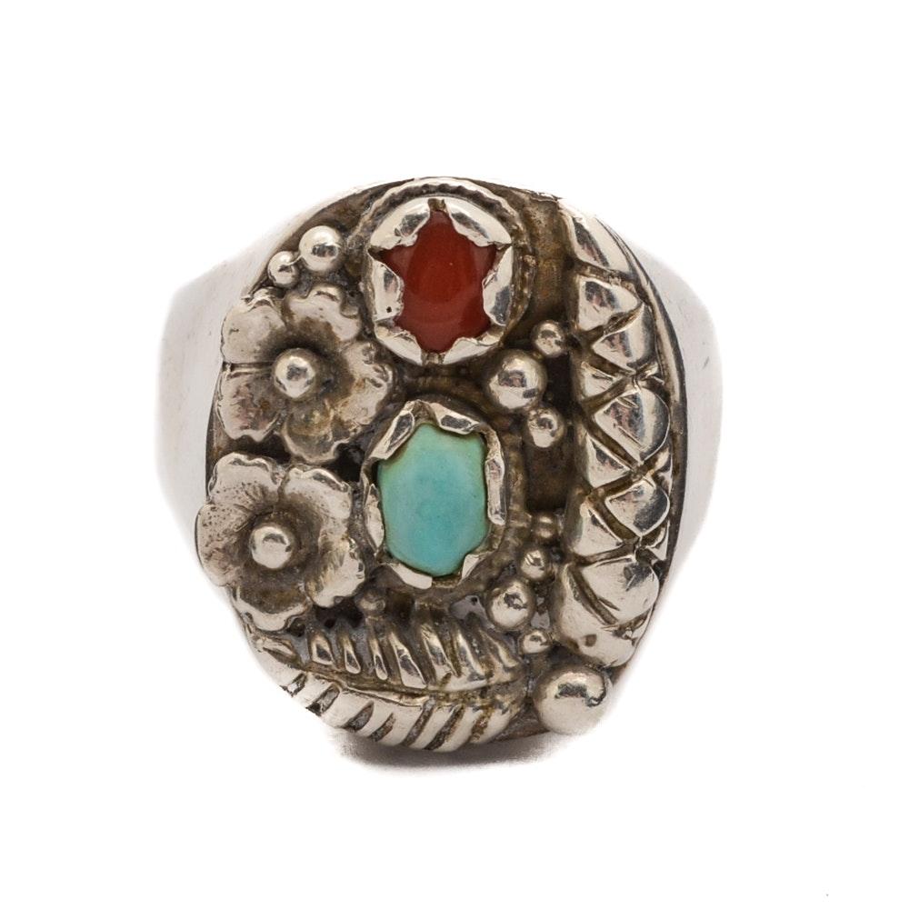 Steven Begay Navajo Diné Sterling Ring