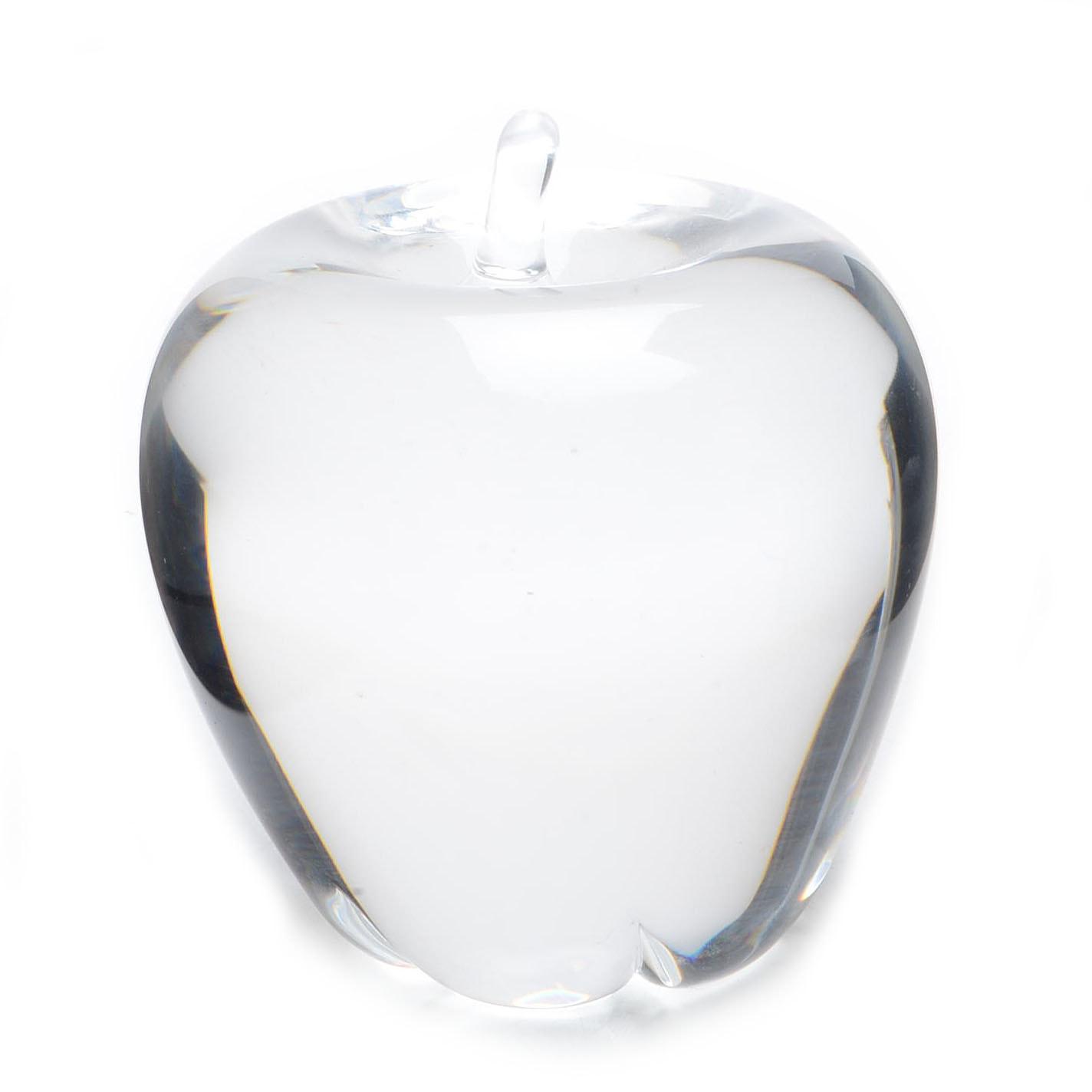 Angus McDougall's Steuben Crystal Apple
