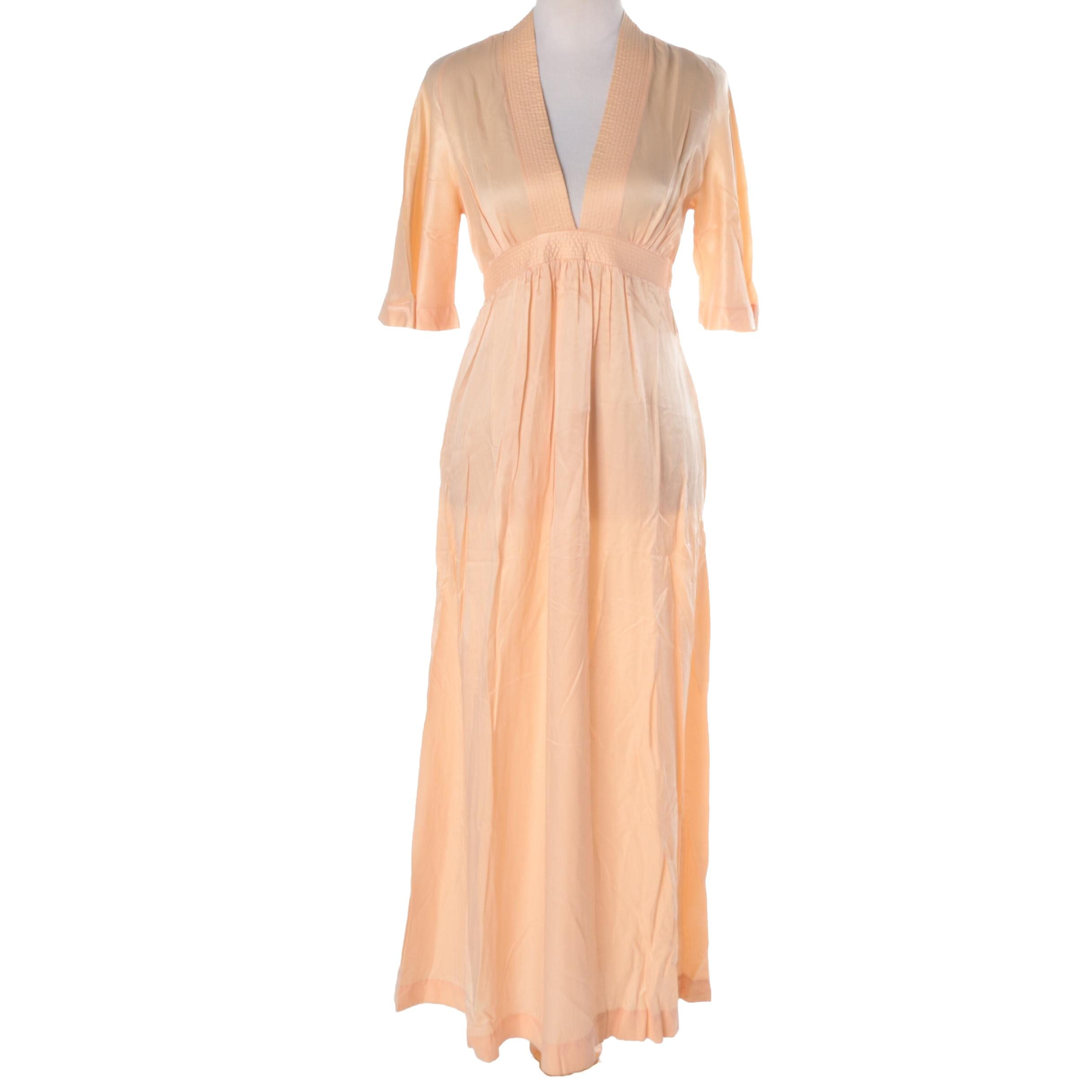 Christian Dior Polyester and Nylon Nightgown