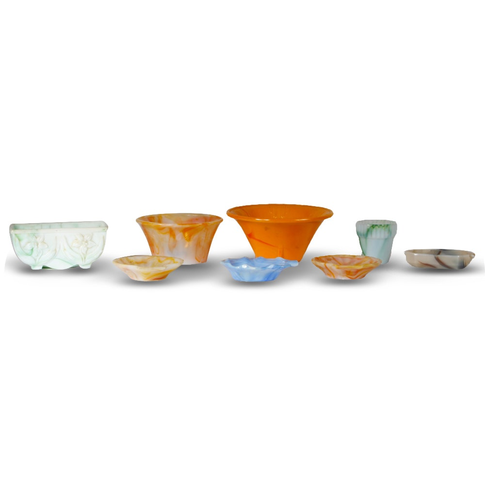 Collection of Agate Decor