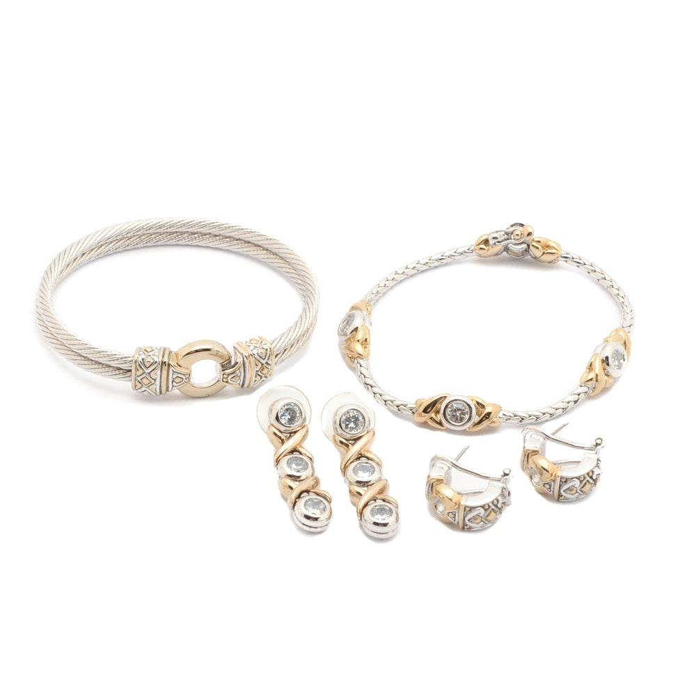 John Medeiros Bracelets and Earrings
