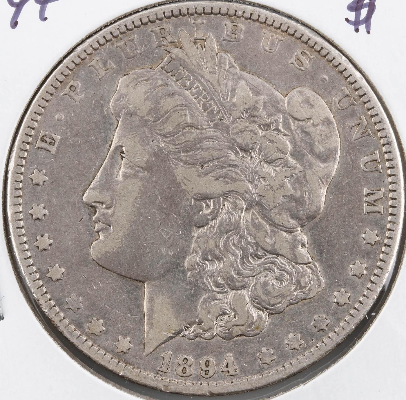 1894-O Silver Morgan Dollar