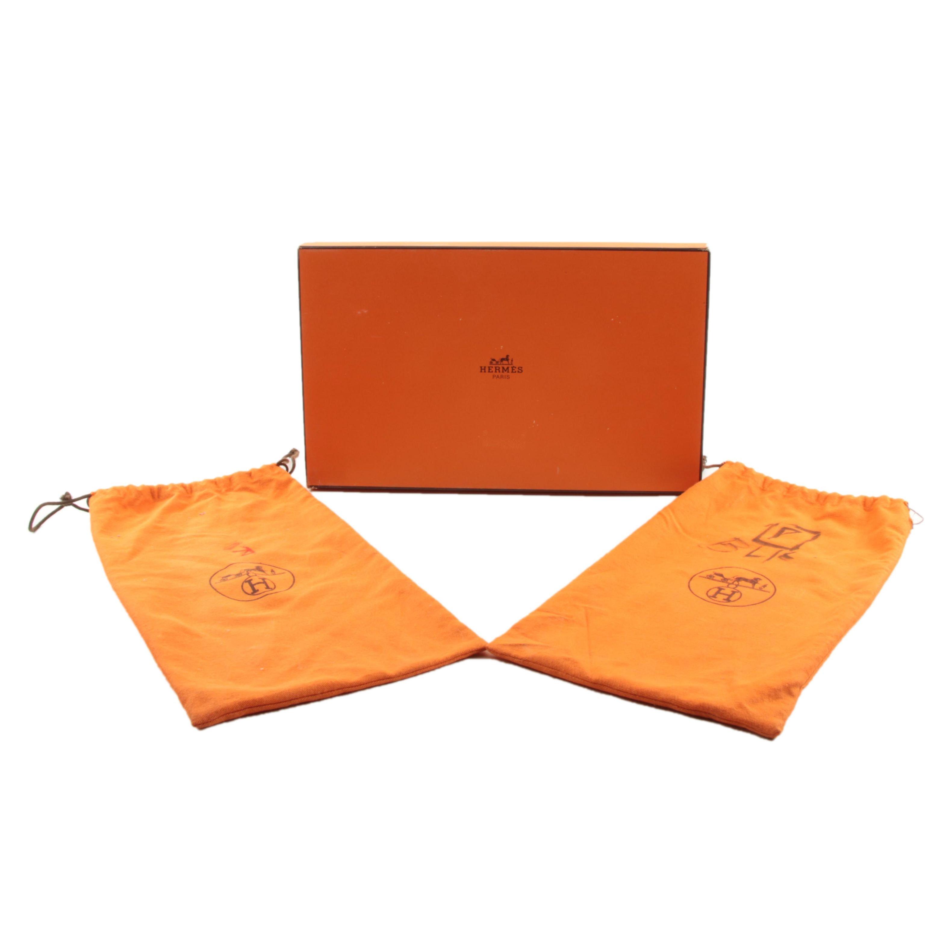 Hermès Box and Dust Bags