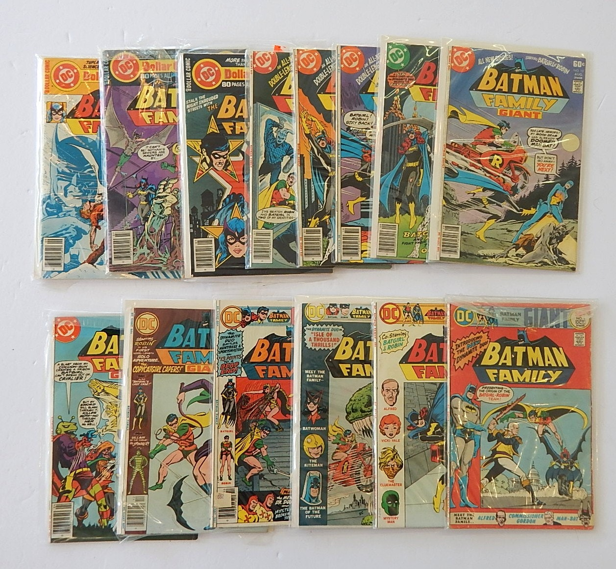 Collection of Batman Comic Books with 1970s