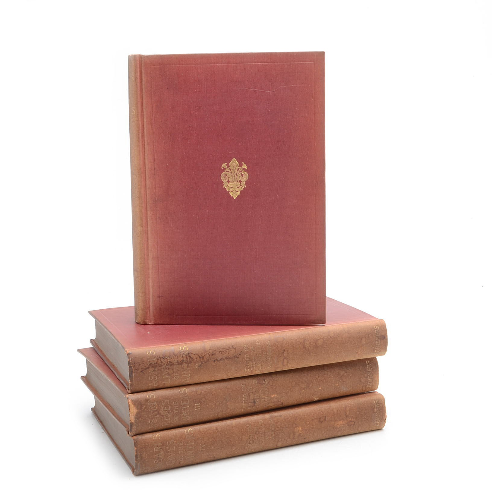 Collection of Antique Books on Artists