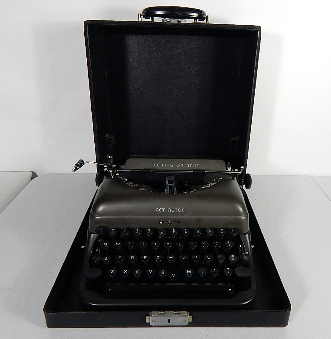 Vintage Remington Rand Typewriter