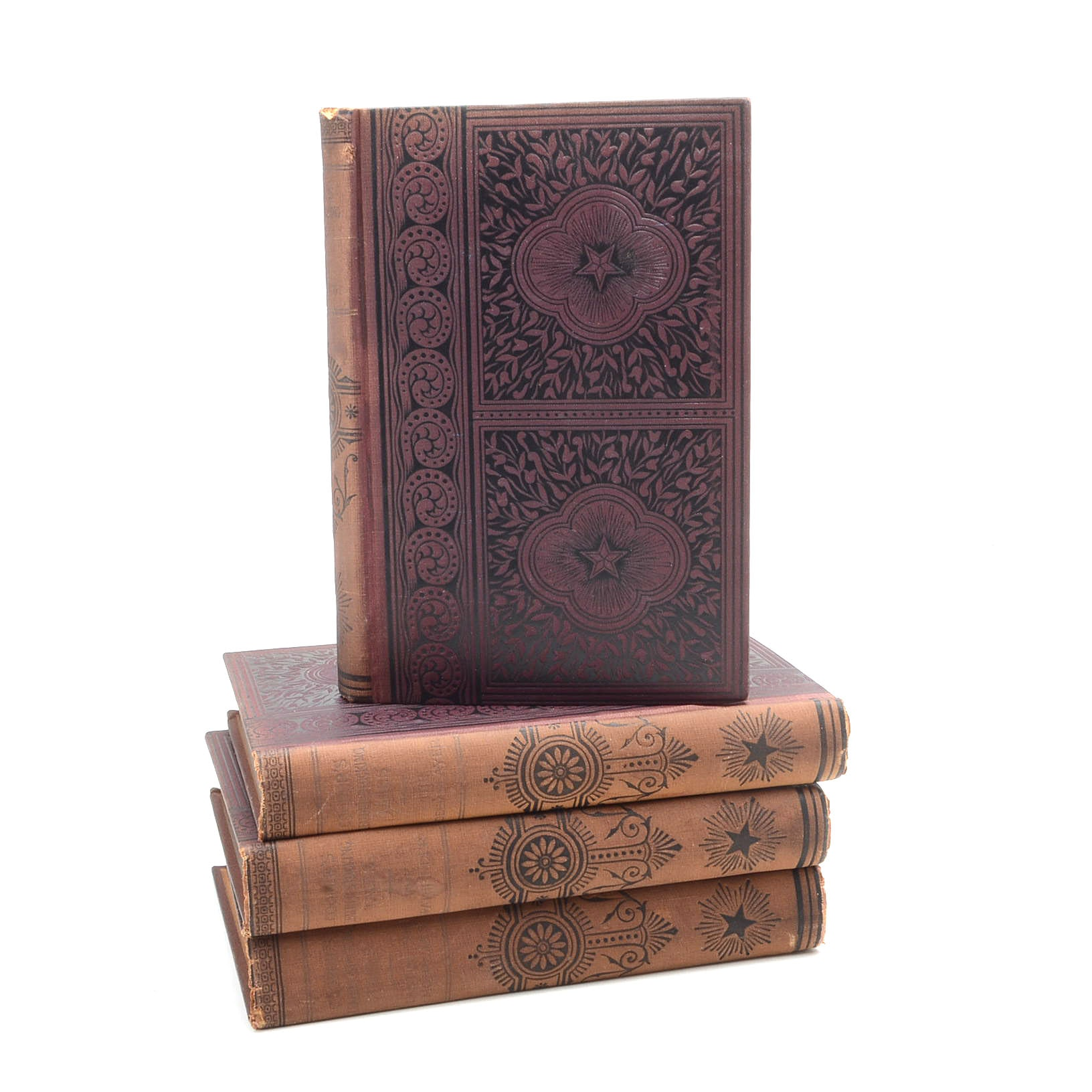 """Antique """"Leatherstockings Tales"""" Book Collection"""