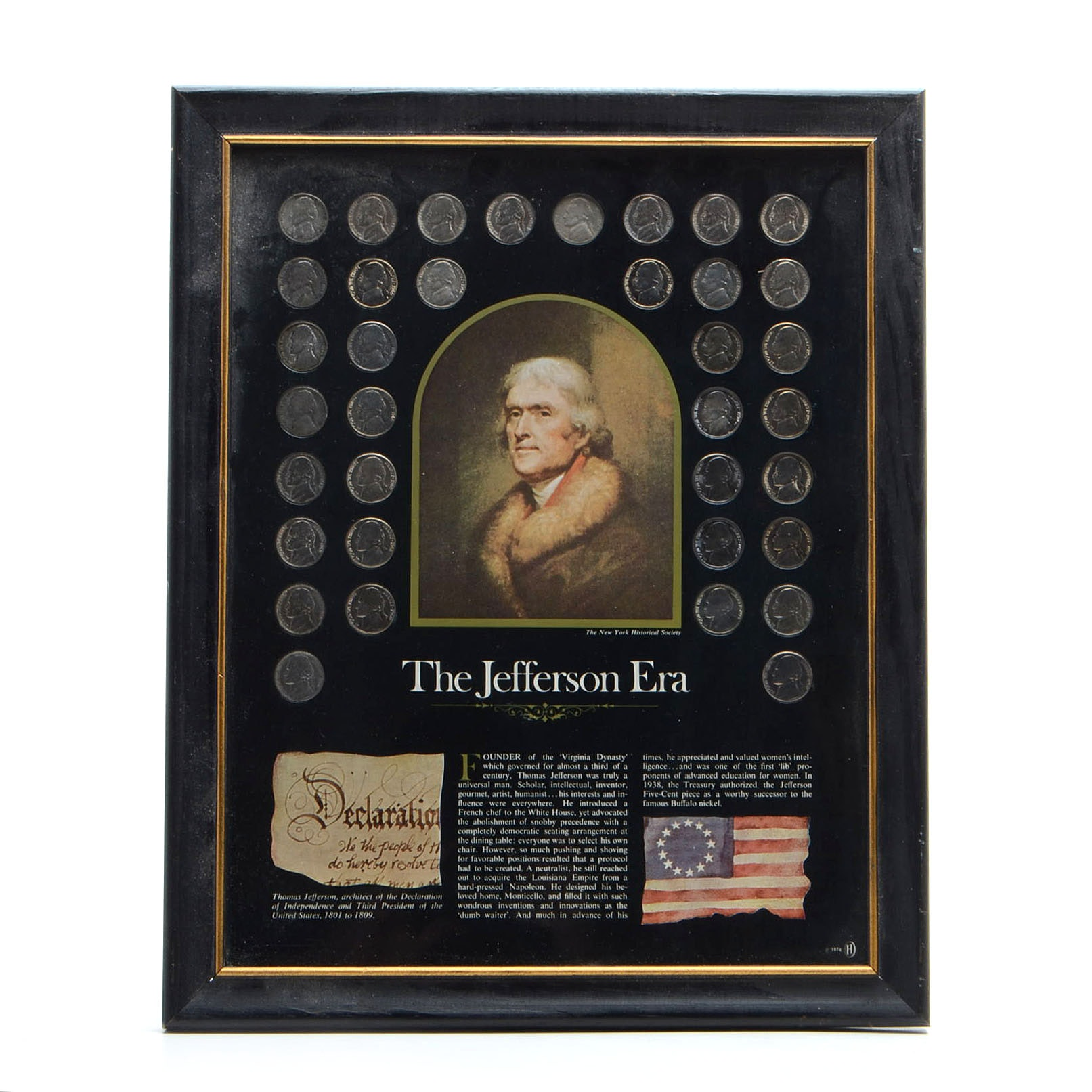 The Jefferson Era Nickel Collection